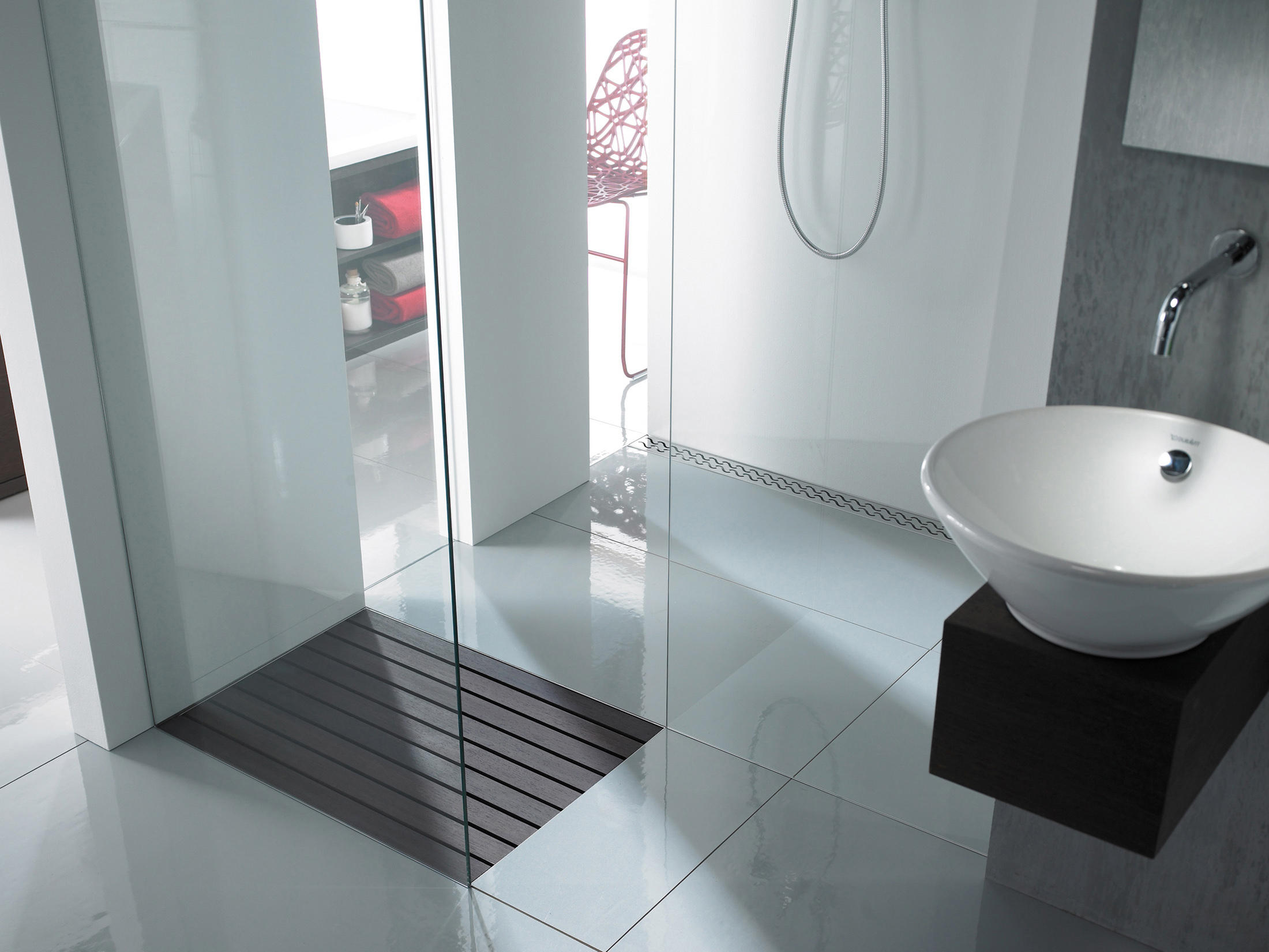 ACO SHOWERDRAIN WALK IN   Linear Drains From ACO Haustechnik | Architonic
