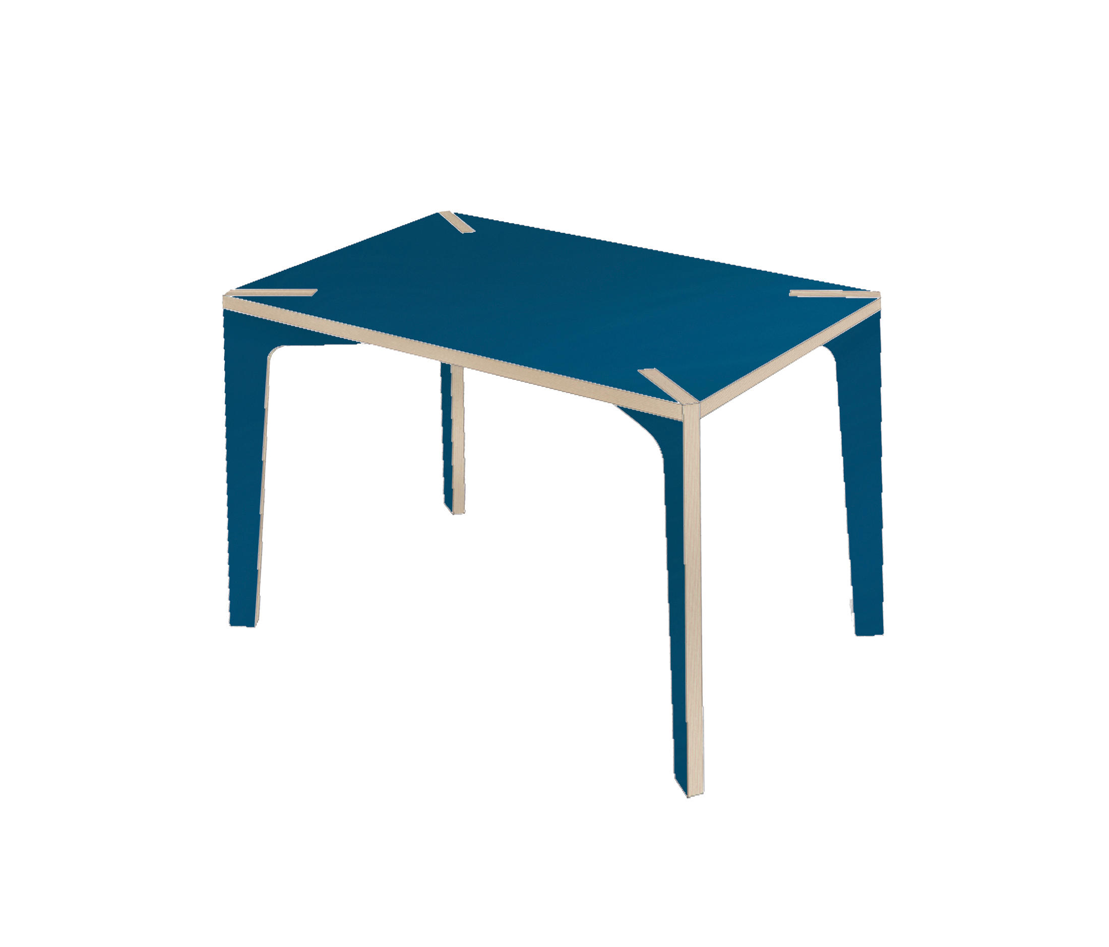 s rie x desk table blue u076 cafeteria tables from la corbeille architonic. Black Bedroom Furniture Sets. Home Design Ideas