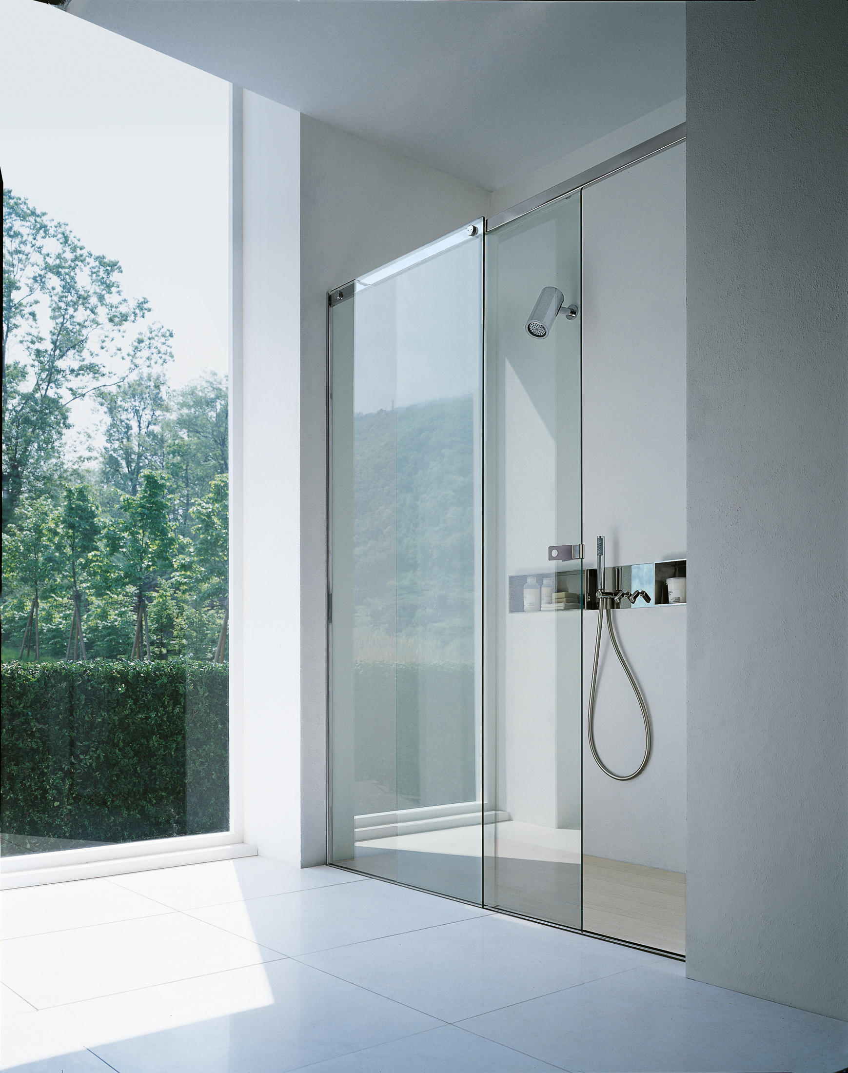 Flat D Shower Controls From Agape Architonic
