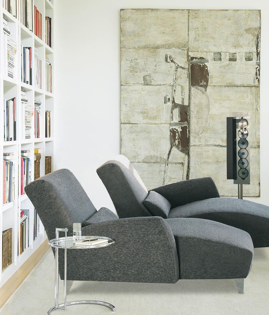 Place chaise longue chaise longues from grassoler for Chaise 2 places