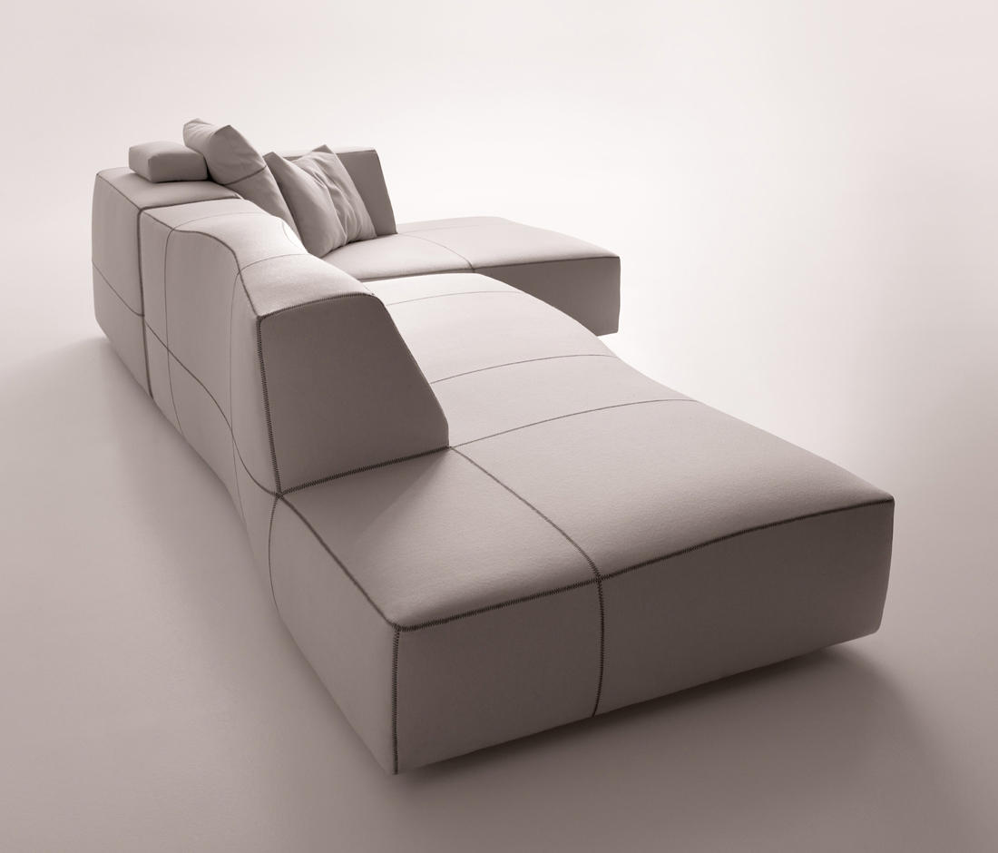BEND SOFA - Poufs from B&B Italia | Architonic