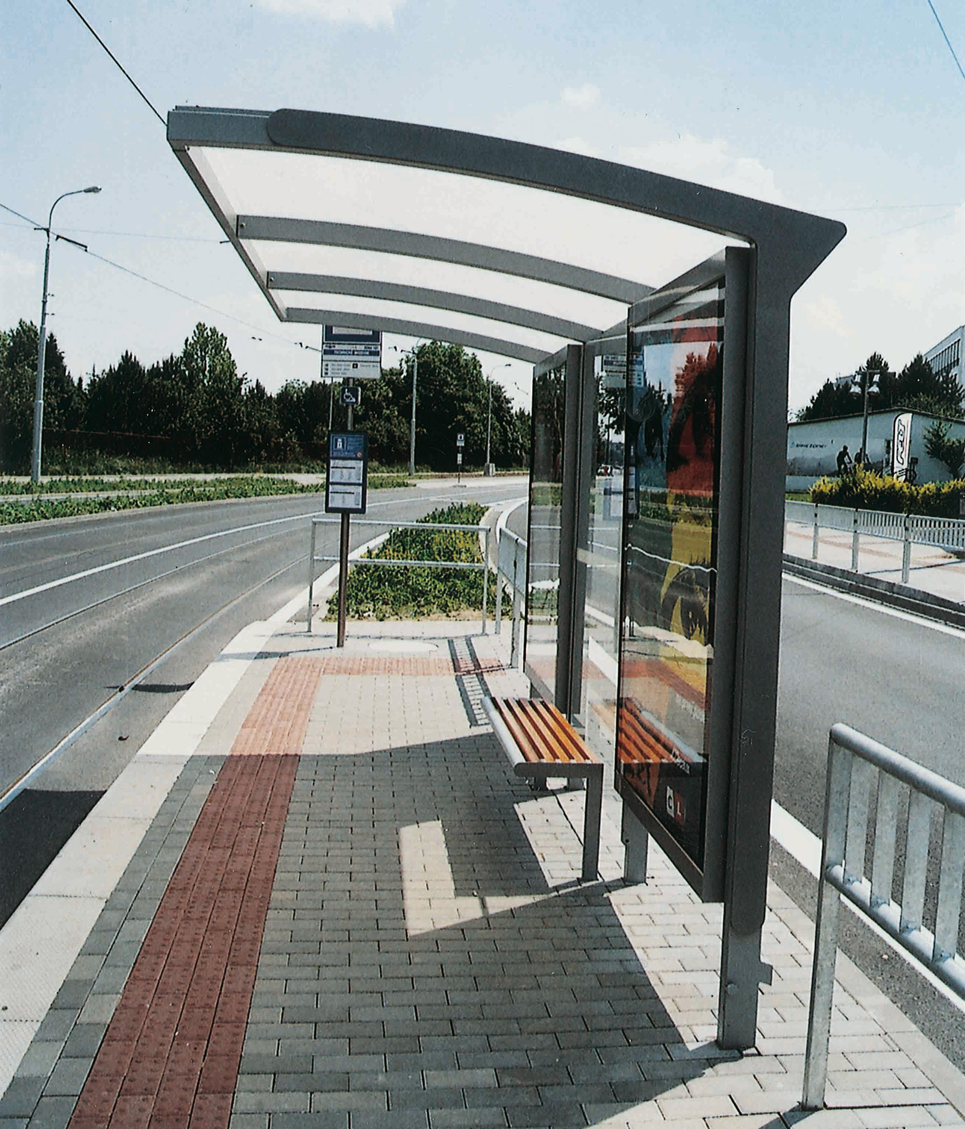 Bus Stop Shelters From Mmcité