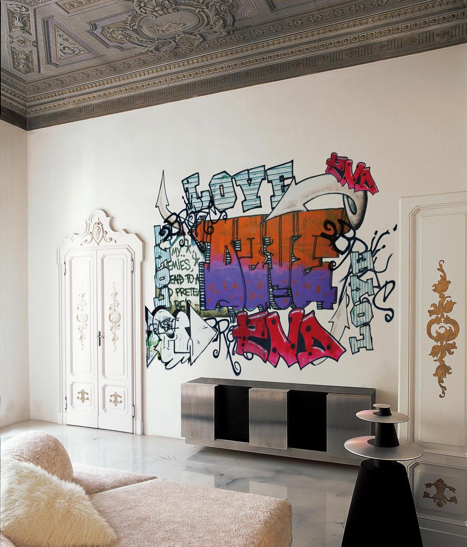 Déco Chambre Old School : Old school quadri murales wall decò architonic