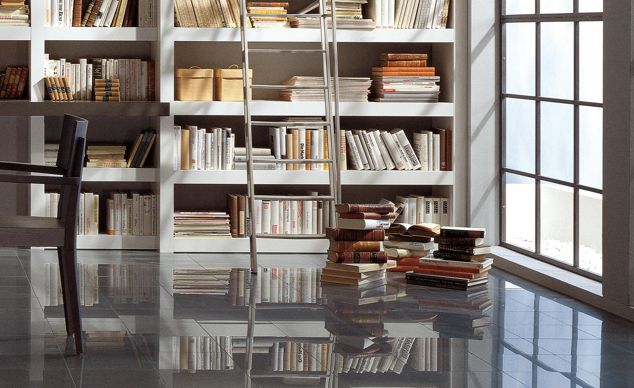 bibliothek no 5 shelving from paschen architonic. Black Bedroom Furniture Sets. Home Design Ideas