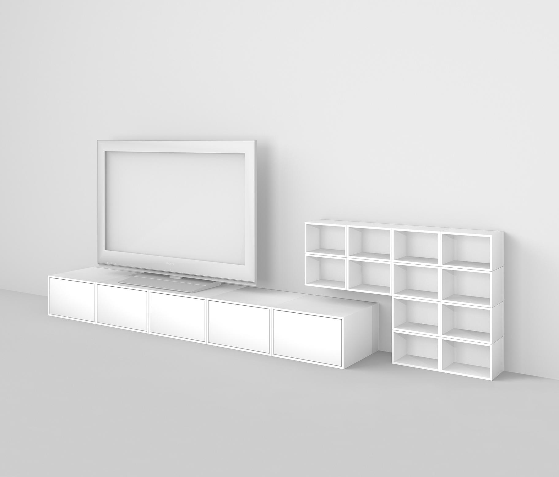 cubit shelving system cd racks from cubit architonic. Black Bedroom Furniture Sets. Home Design Ideas