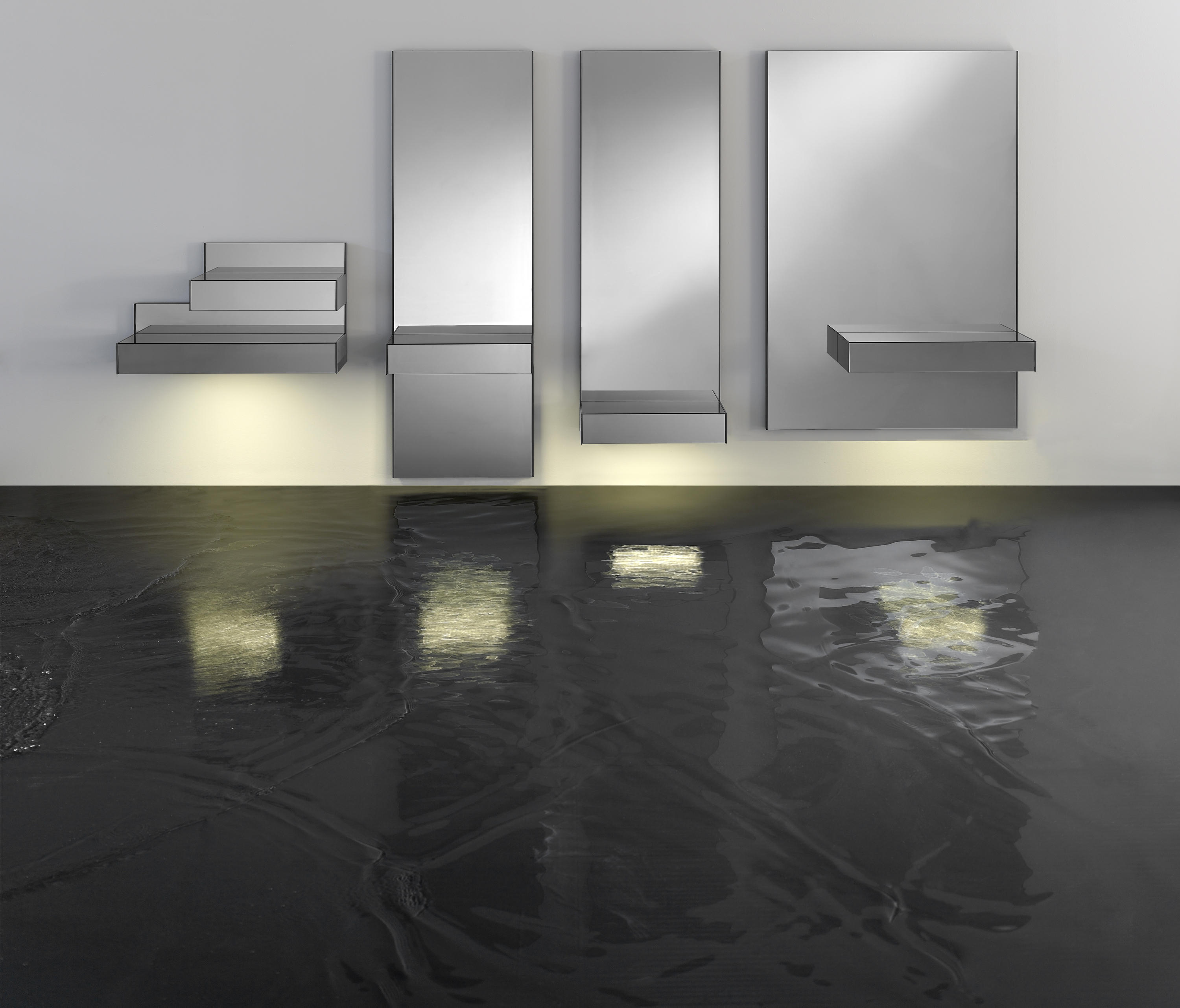 Grey mirrors from kendo mobiliario architonic - Kendo mobiliario ...