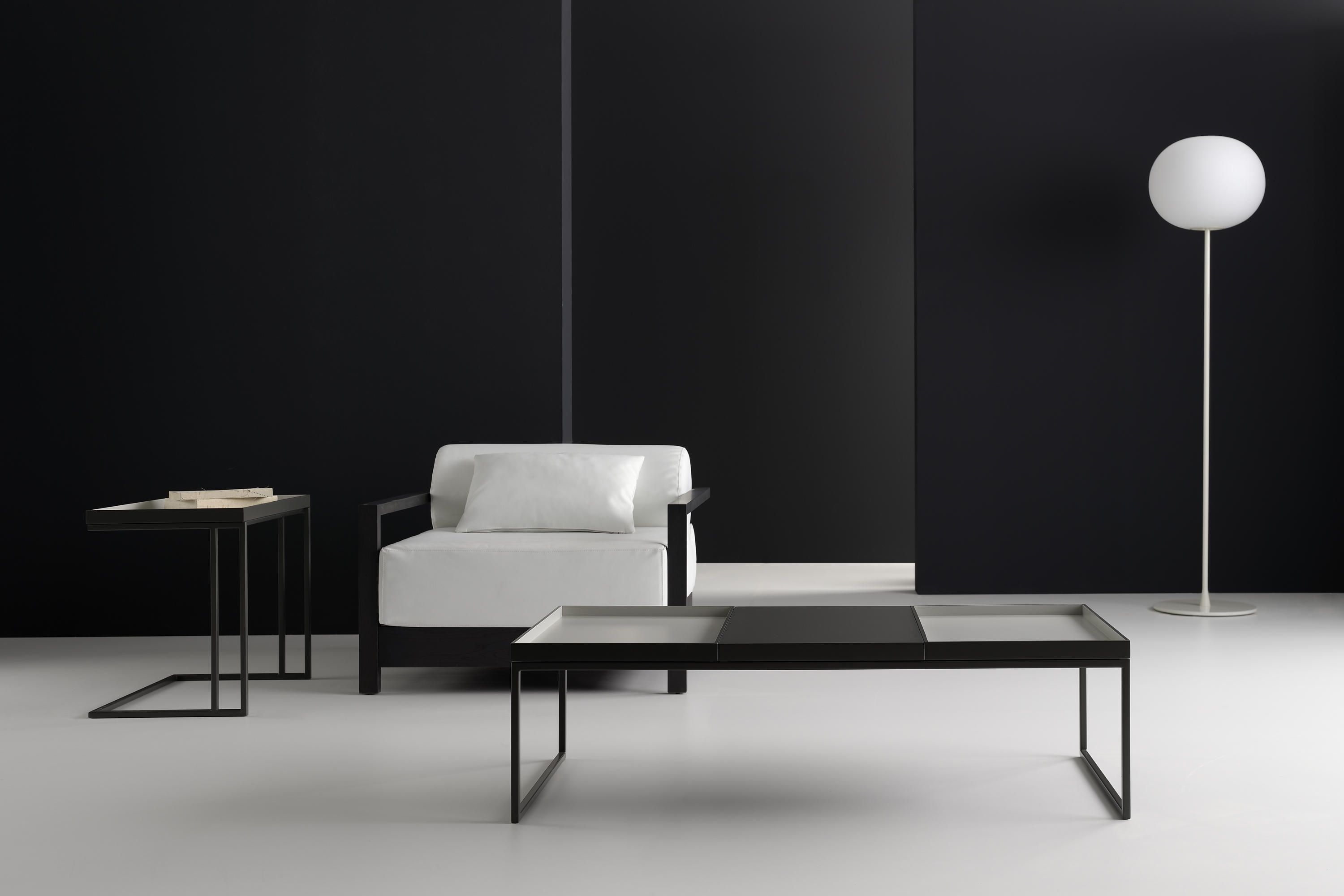 Tray 64 side tables from kendo mobiliario architonic - Kentto mobiliario ...