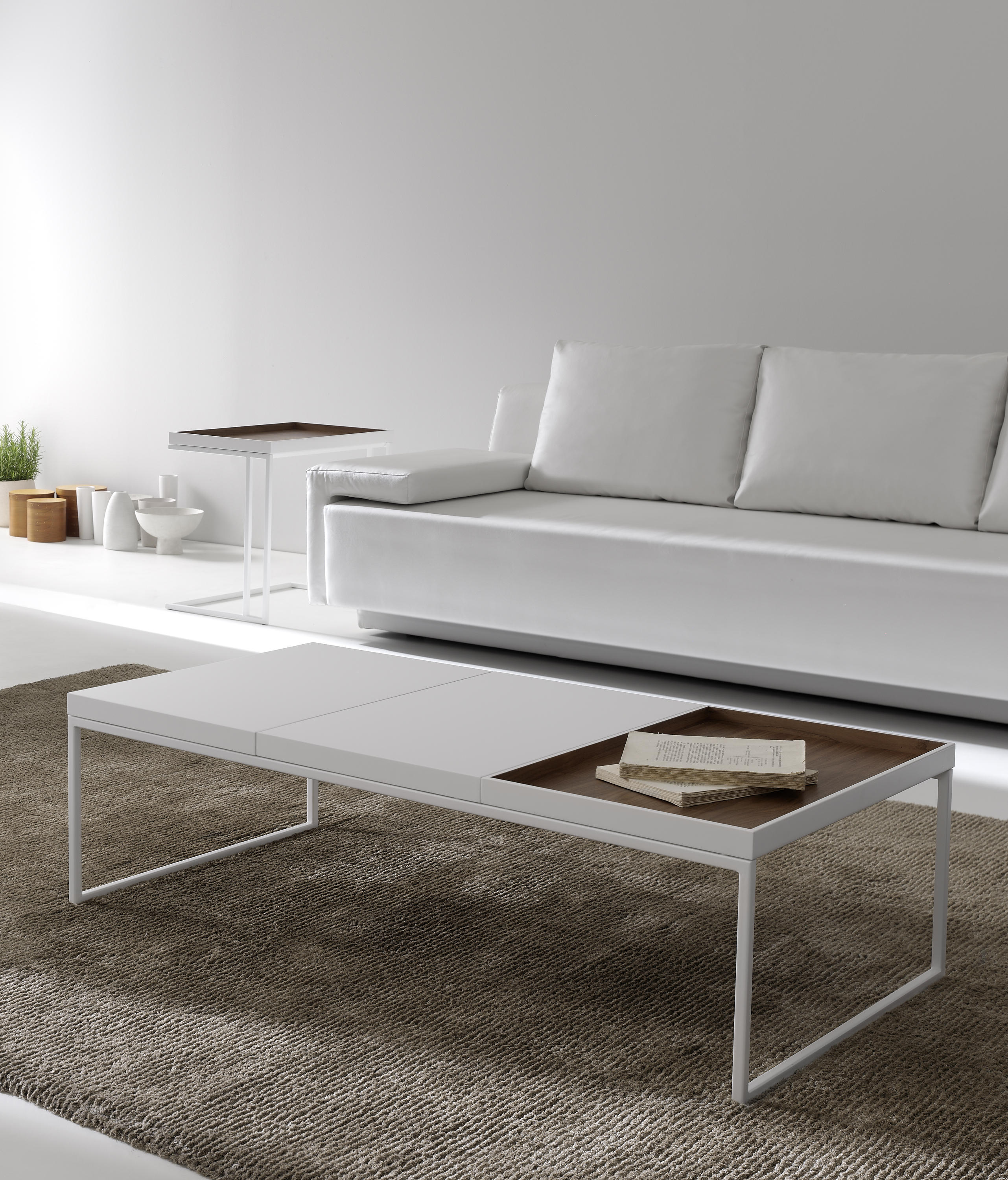 Tray 64 side tables from kendo mobiliario architonic for By h mobiliario