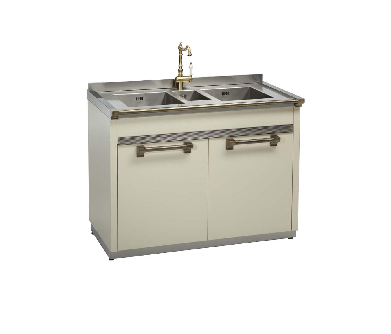 ASCOT - 3 BOWL SINK UNIT - Kitchen sinks from Steel | Architonic