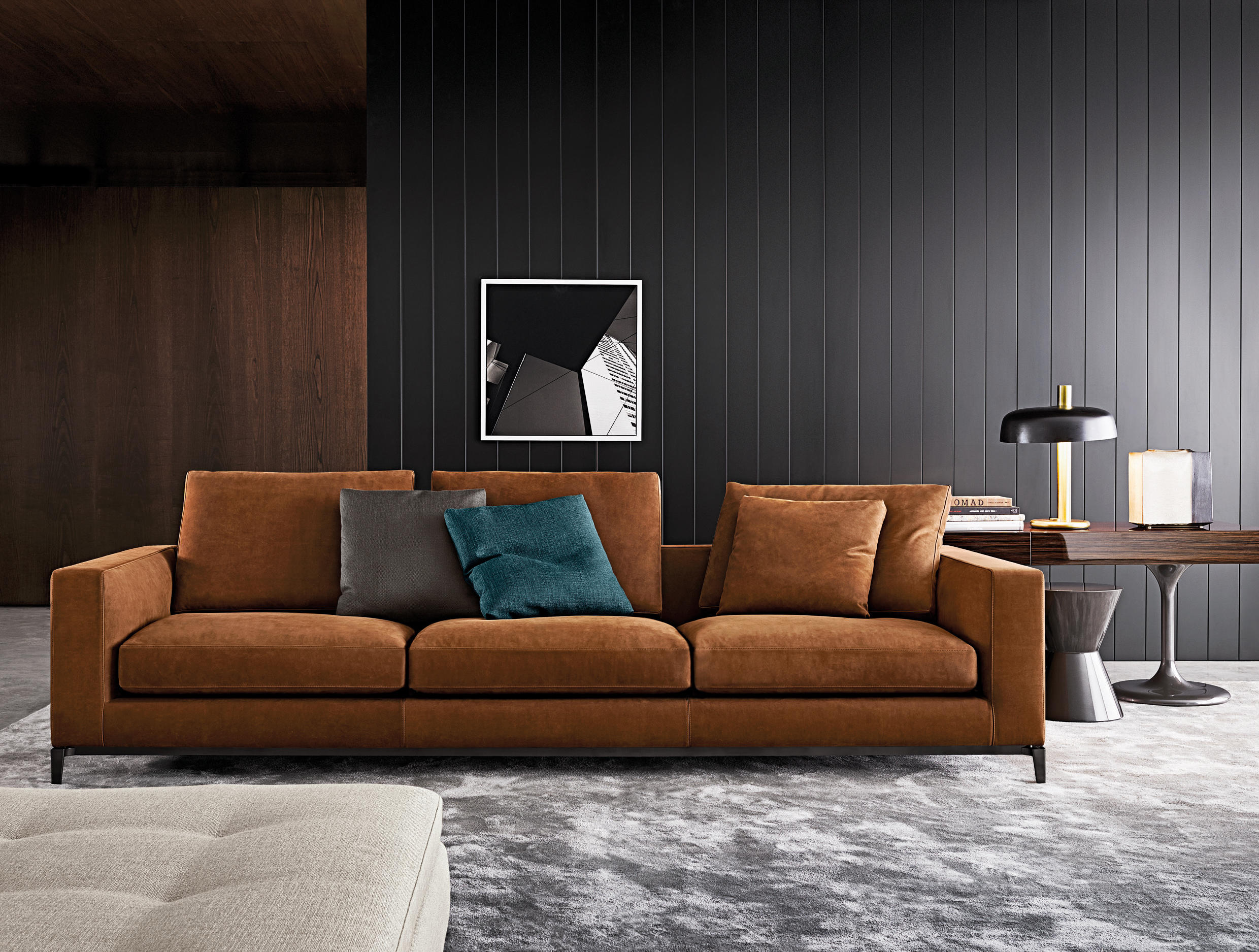 Andersen lounge sofas from minotti architonic for Sofa gebraucht