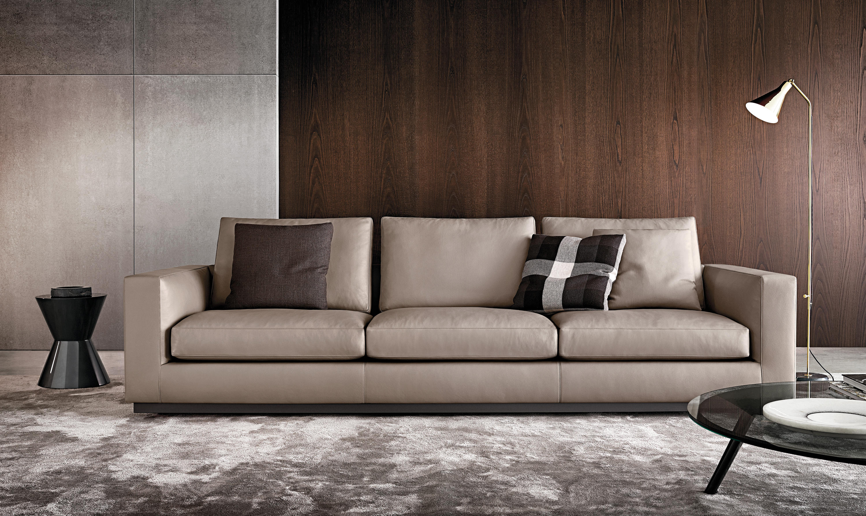 andersen line lounge sofas from minotti architonic. Black Bedroom Furniture Sets. Home Design Ideas