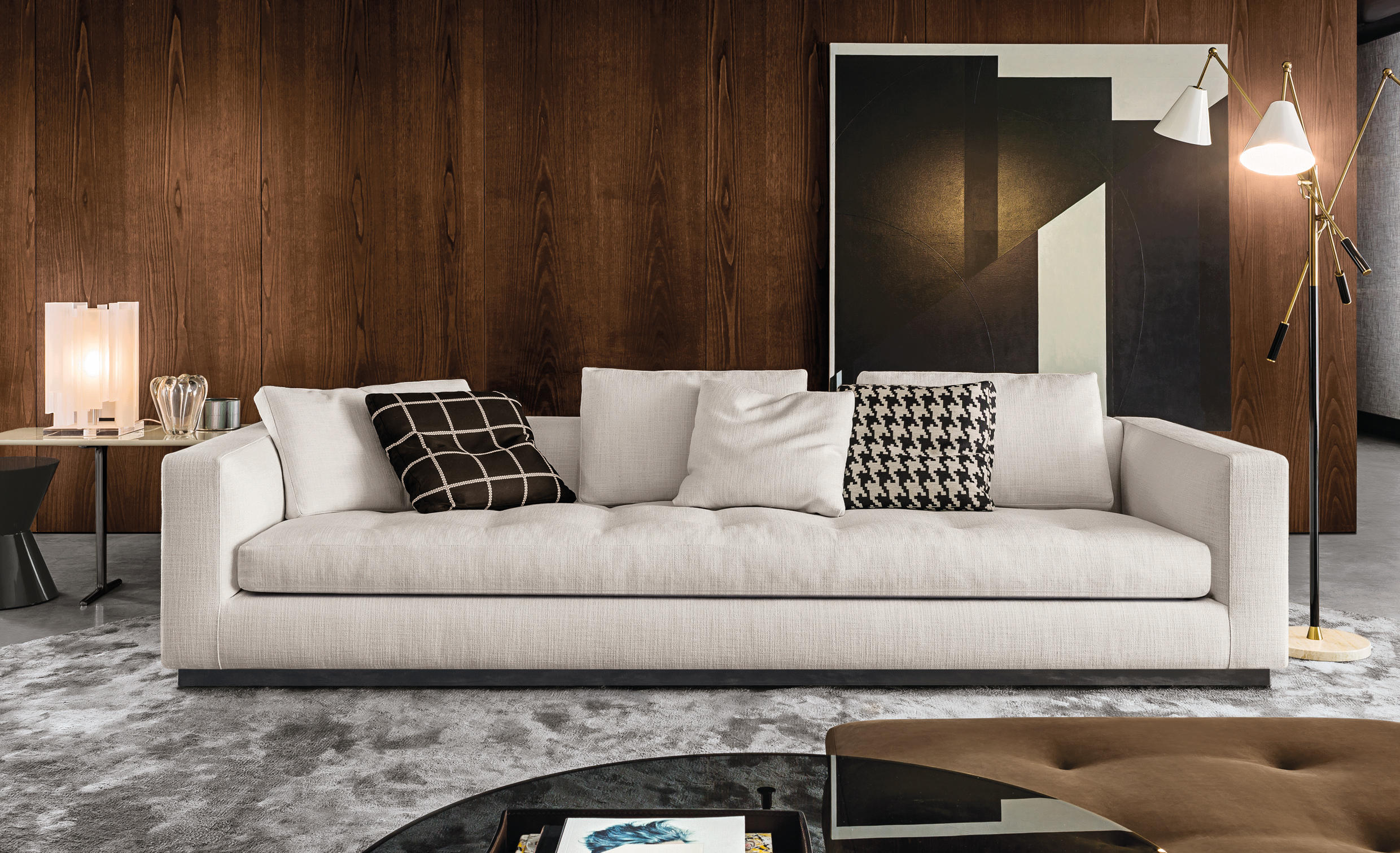 andersen line quilt sofas from minotti architonic