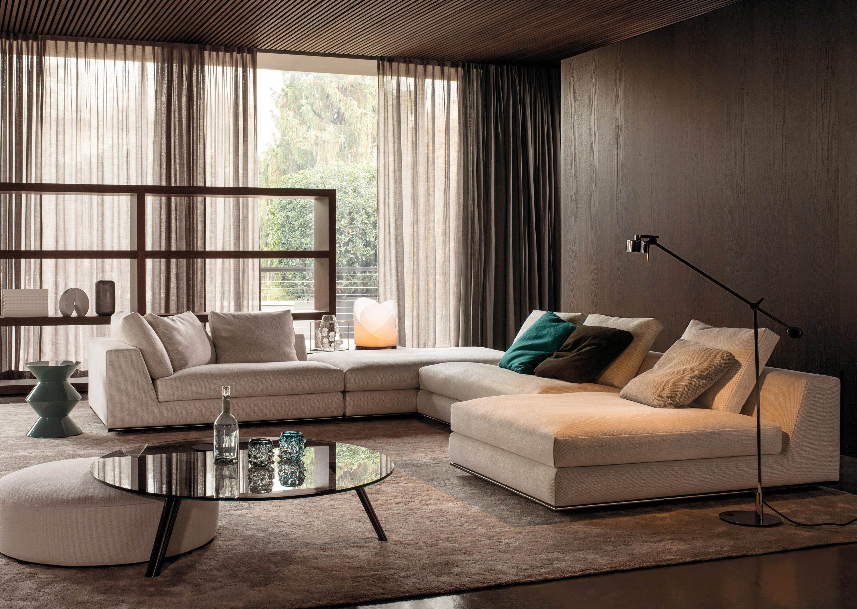 HAMILTON Lounge sofas from Minotti