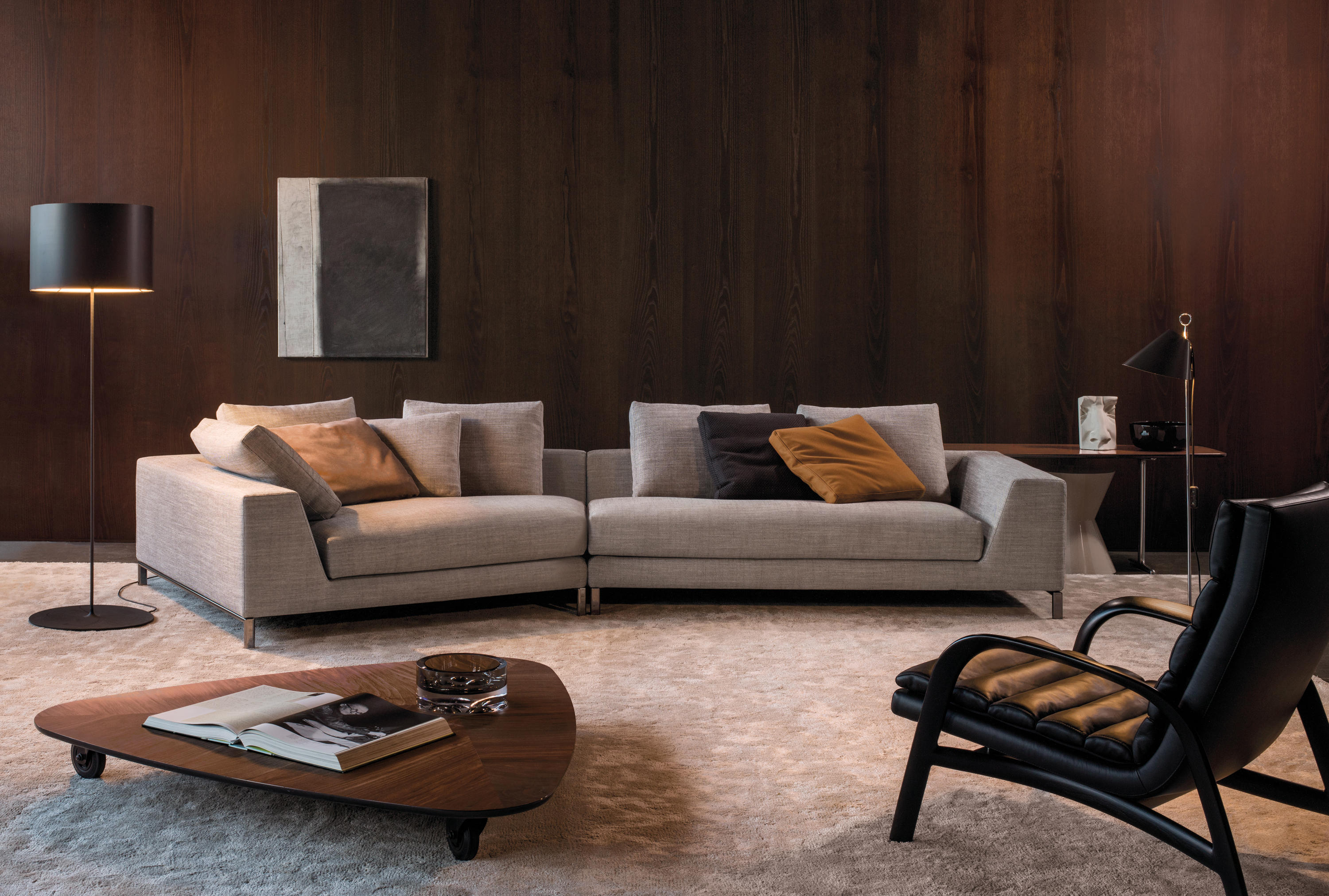 HAMILTON ISLANDS Lounge sofas from Minotti