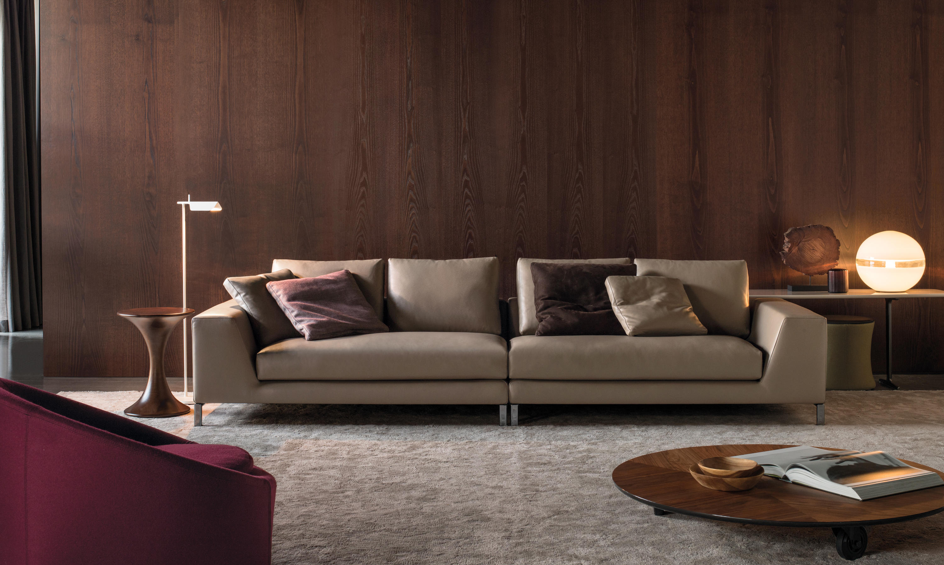 hamilton islands lounge sofas from minotti architonic. Black Bedroom Furniture Sets. Home Design Ideas