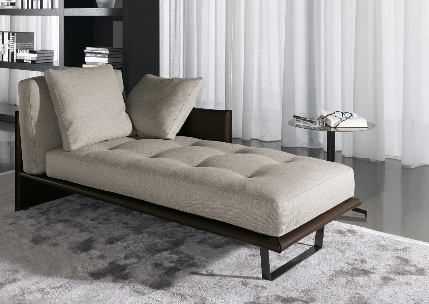 luggage recamieres from minotti architonic. Black Bedroom Furniture Sets. Home Design Ideas