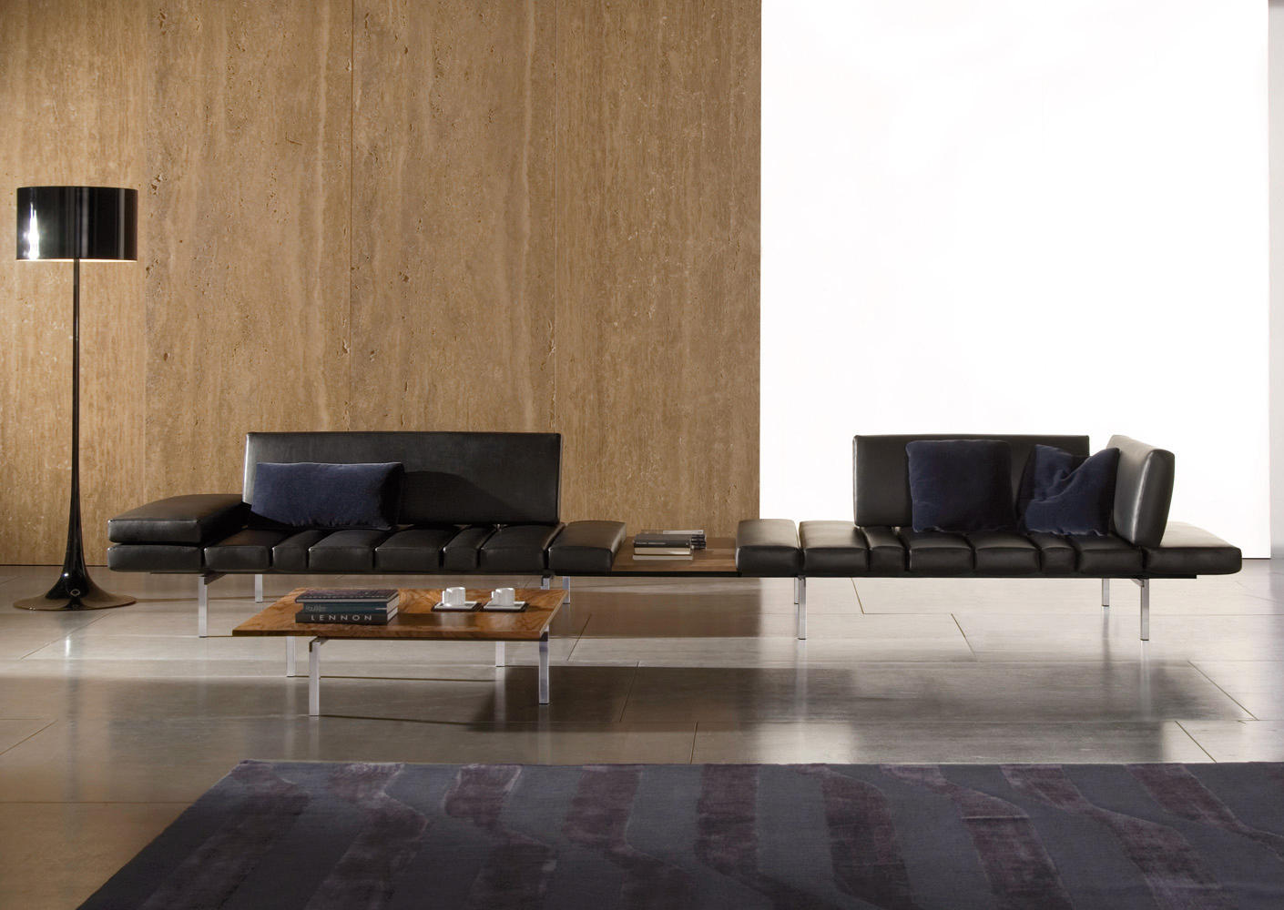 SMITH LOUNGE SYSTEM Lounge sofas from Minotti