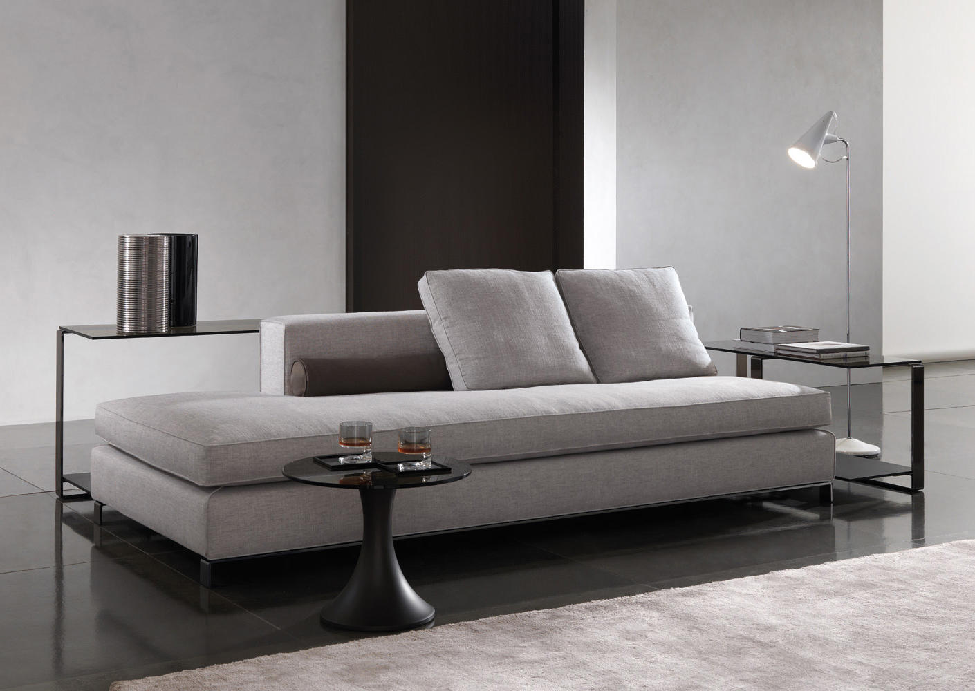 Williams lounge sofas from minotti architonic for Minotti divani