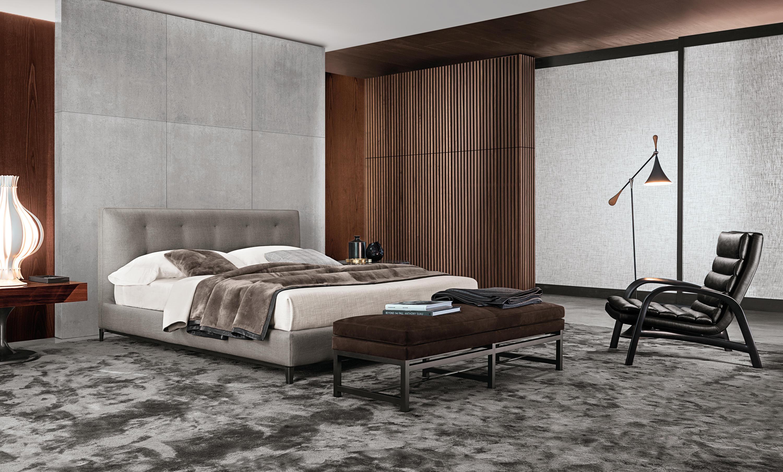 andersen bett quilt betten von minotti architonic. Black Bedroom Furniture Sets. Home Design Ideas