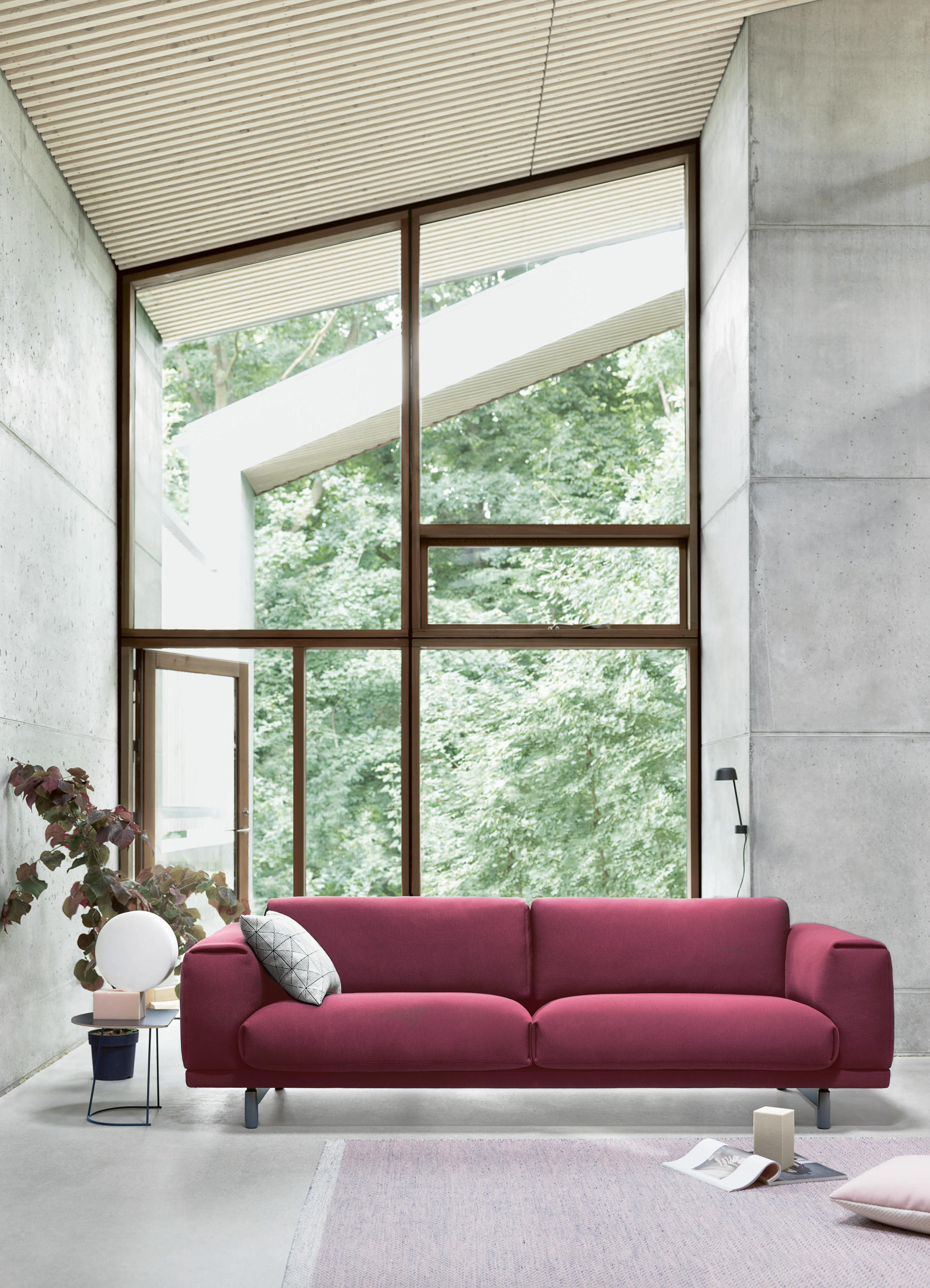 Remarkable Rest 2 Seater Sofas From Muuto Architonic Interior Design Ideas Inamawefileorg