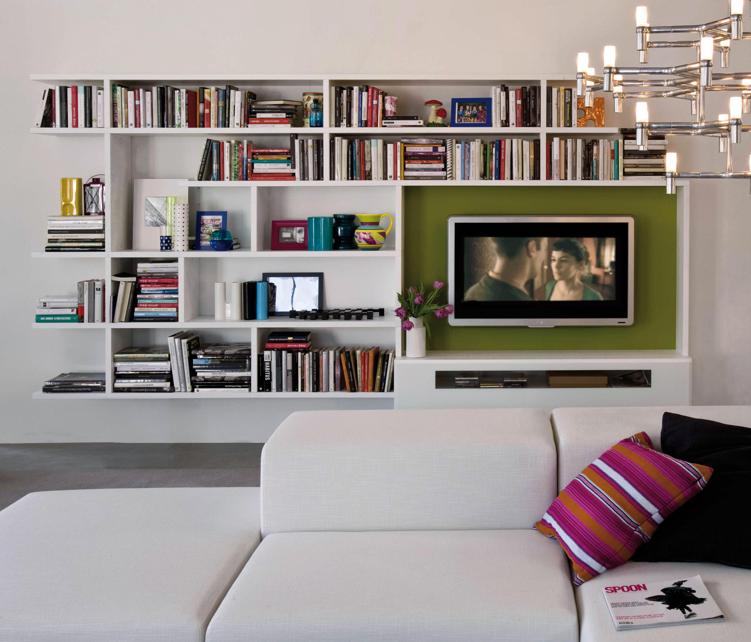 tone du blue monde maisons twist bookcase two w vintage bookcases tv in unit pin white and wooden
