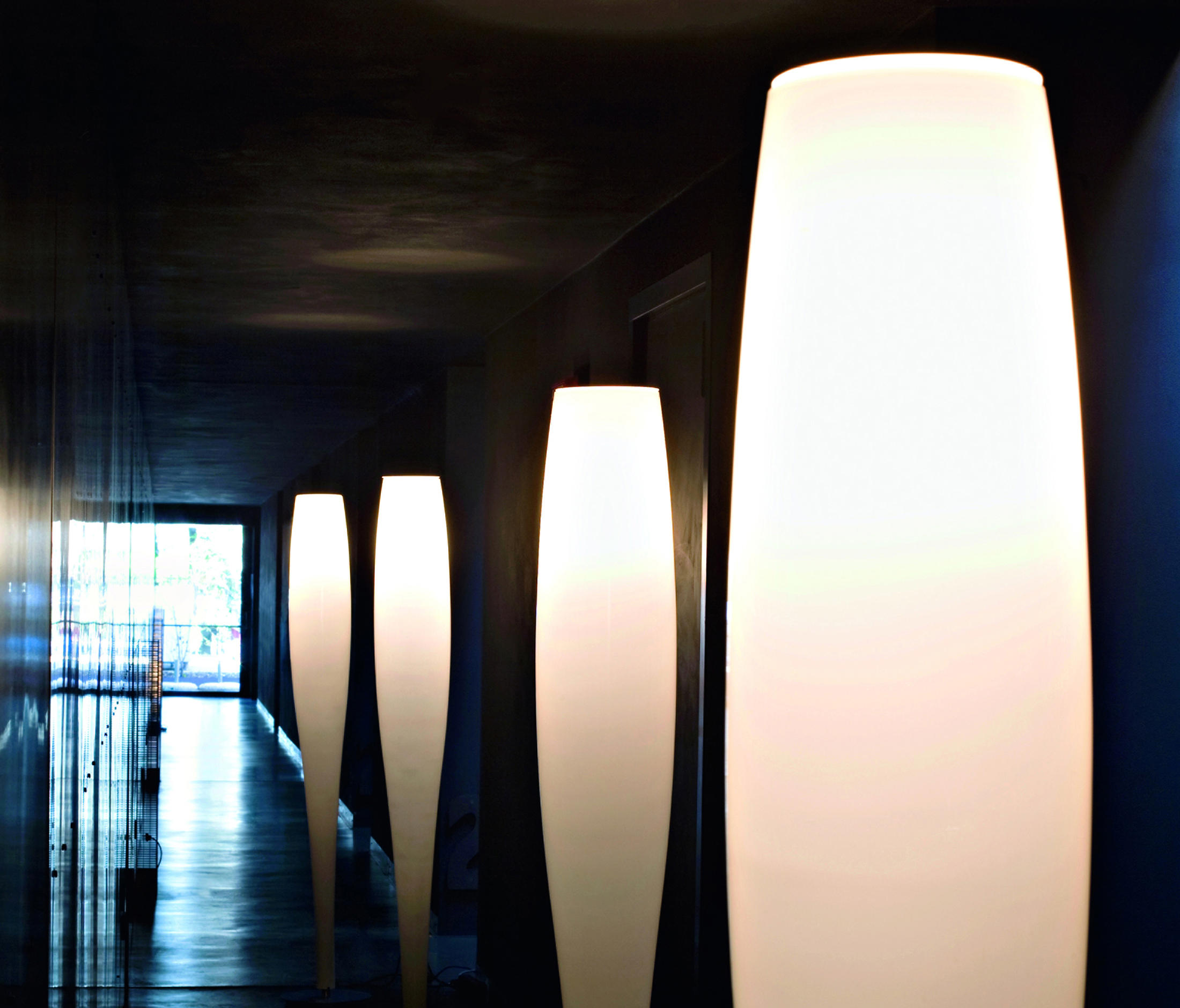 Stand Up Floor Free Standing Lights From A V Mazzega