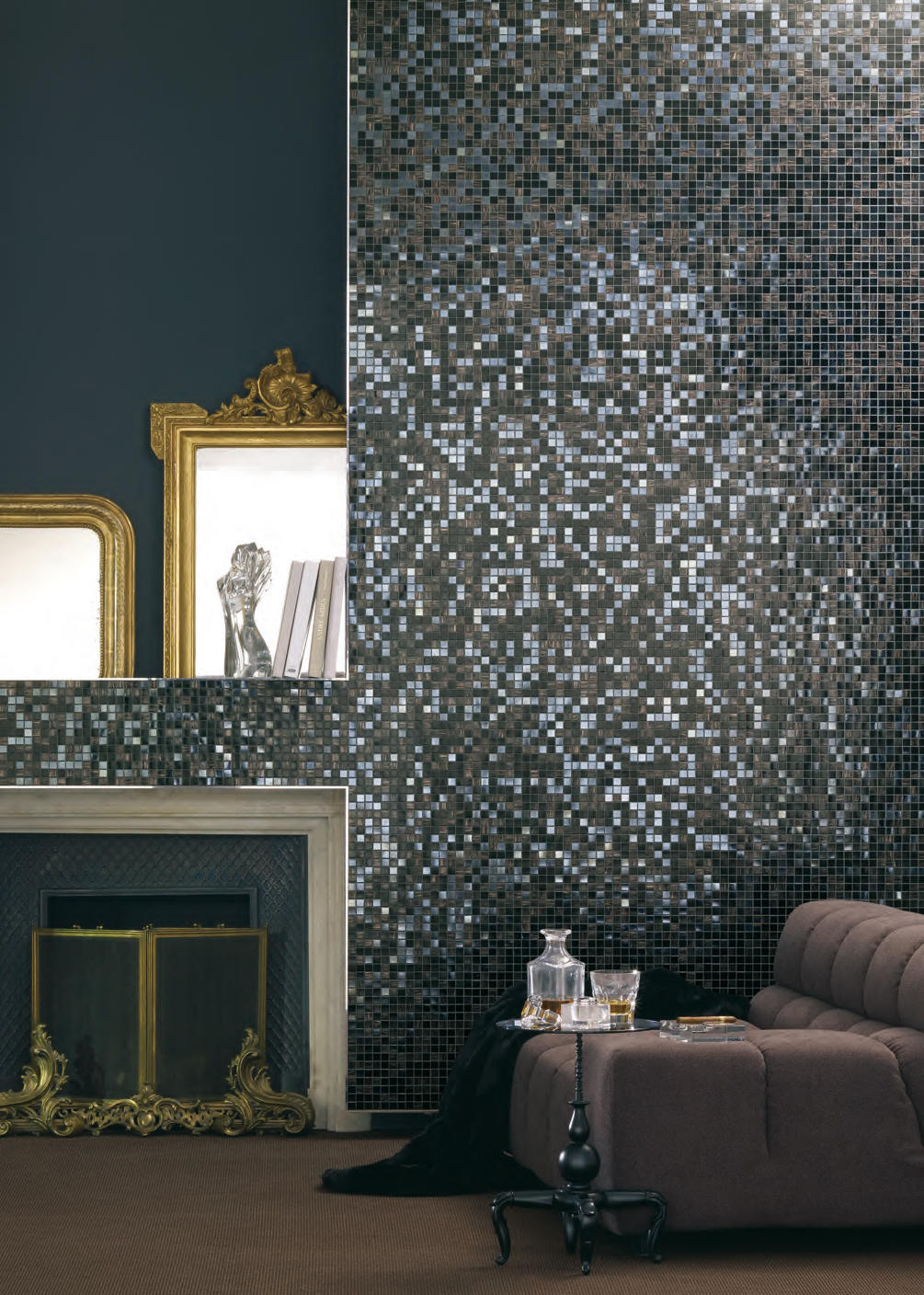 Pearl Collection Ghiaccio Plus Glass Mosaics From