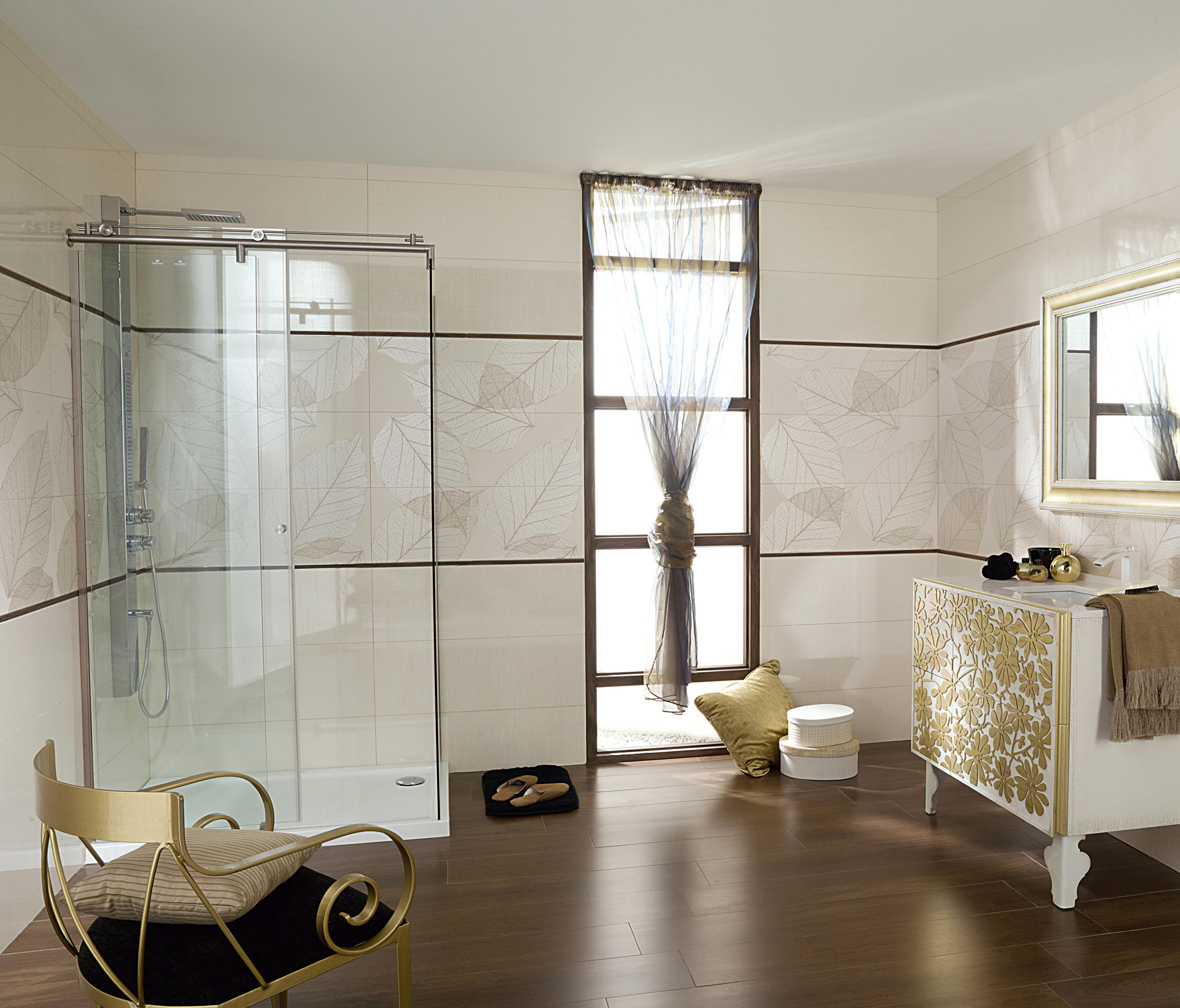 nature lino blanco ceramic panels from porcelanosa. Black Bedroom Furniture Sets. Home Design Ideas
