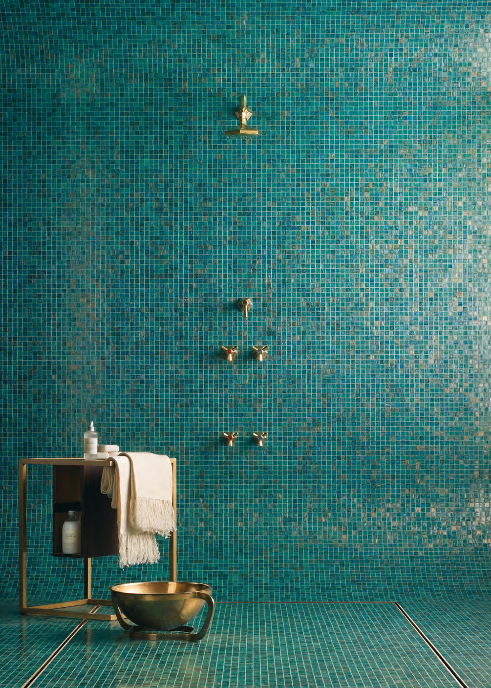 Aqua Collection Enrica Glass Mosaics From Bisazza