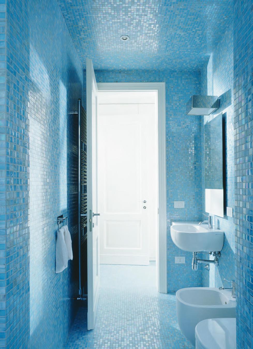 blue collection | elisabetta - mosaici in vetro bisazza | architonic - Bagni Mosaico Bisazza