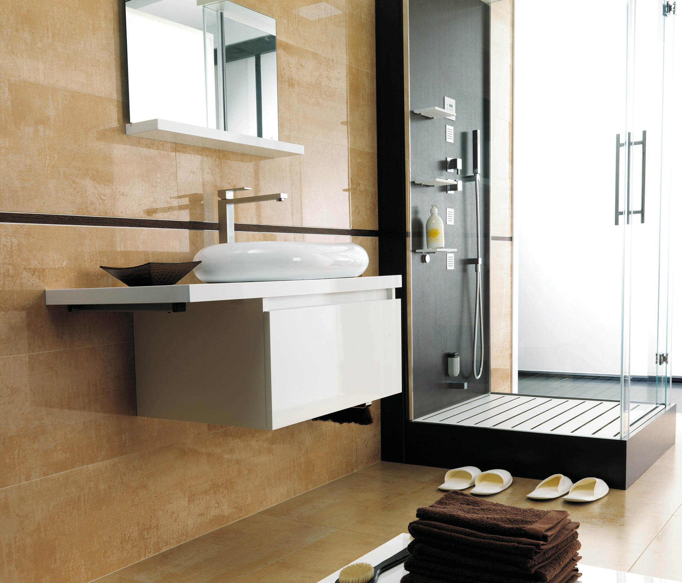 SHINE LATON Ceramic Panels From Porcelanosa Architonic - Porcelanosa bathroom accessories