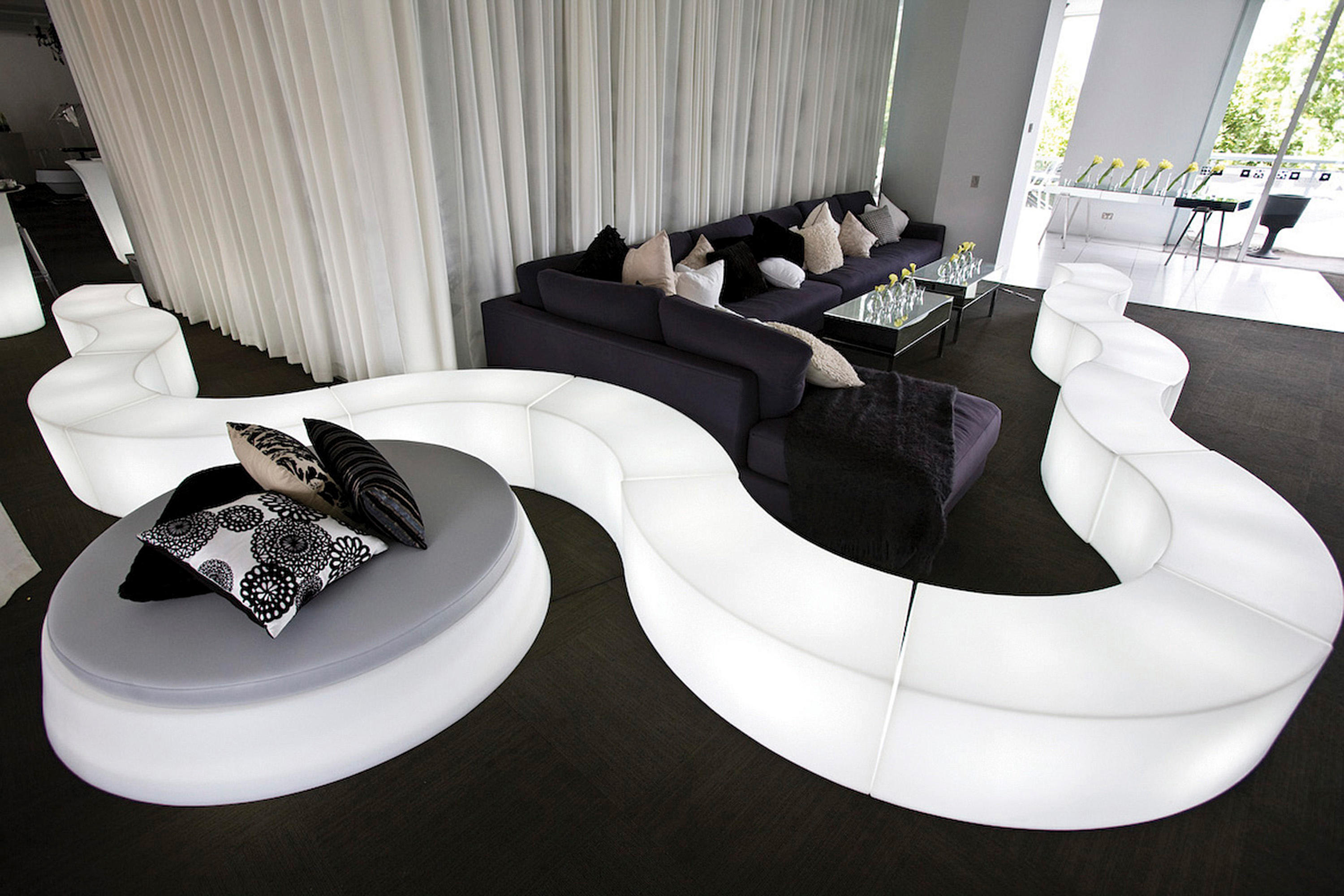 Snake Modular Seating Elements From Slide Architonic