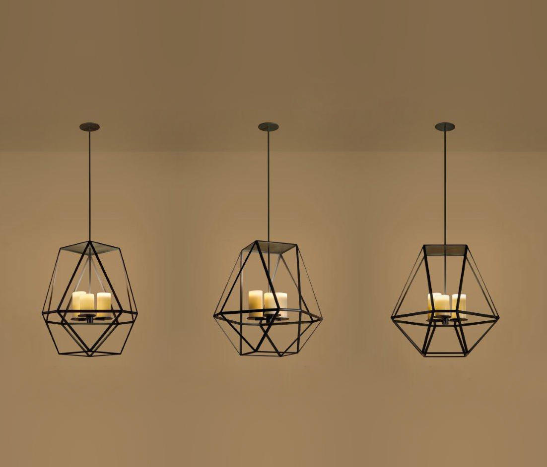 Gem Suspended Lights From Kevin Reilly Collection