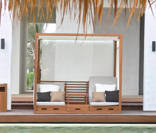 Summer Cabana Bed Cocoon Furniture From Deesawat