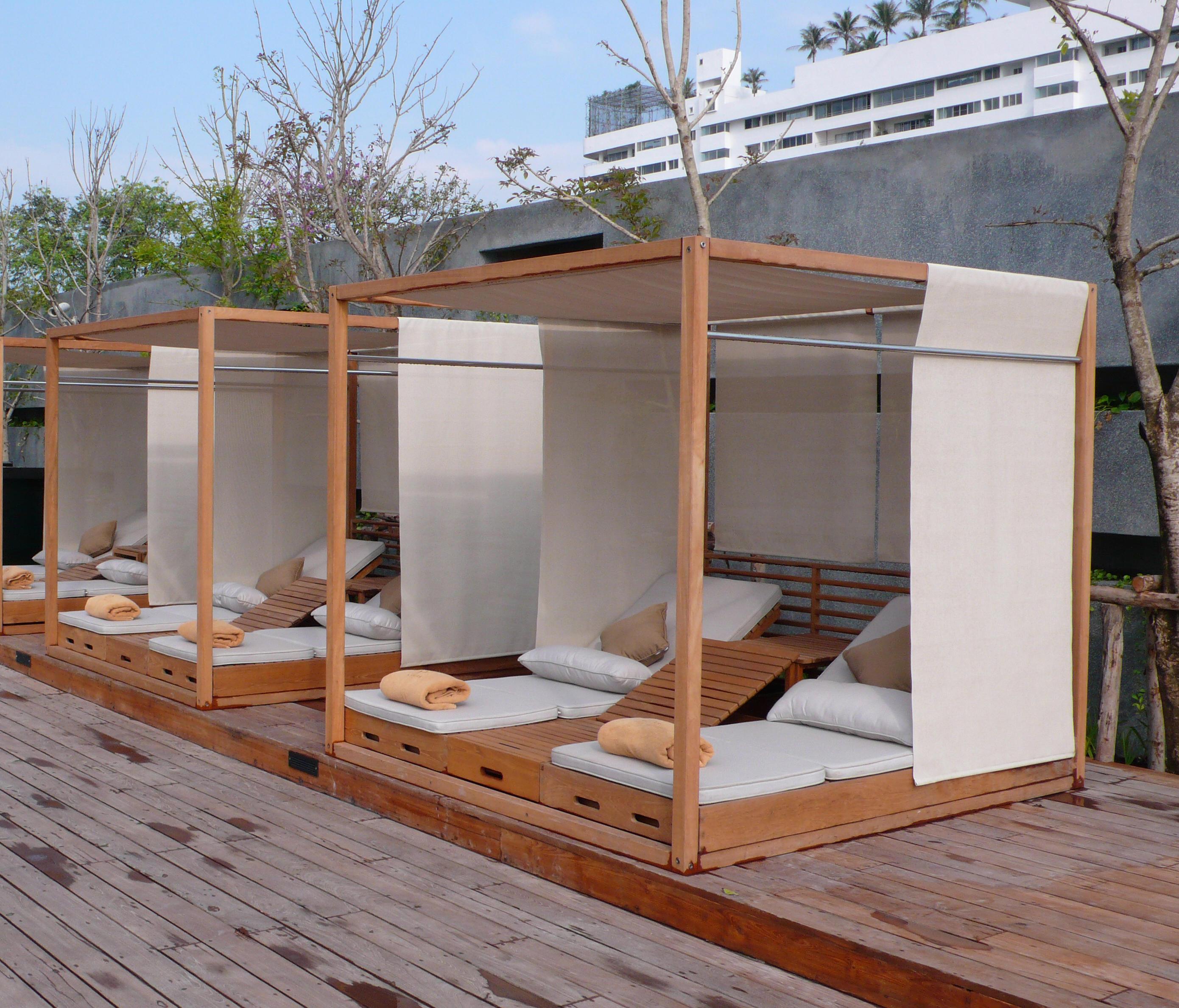 Summer Cabana Bed Designer Furniture Architonic
