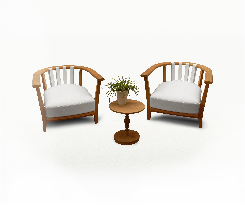 TIERA OUTDOOR LOUNGE CHAIR Garden armchairs from Deesawat