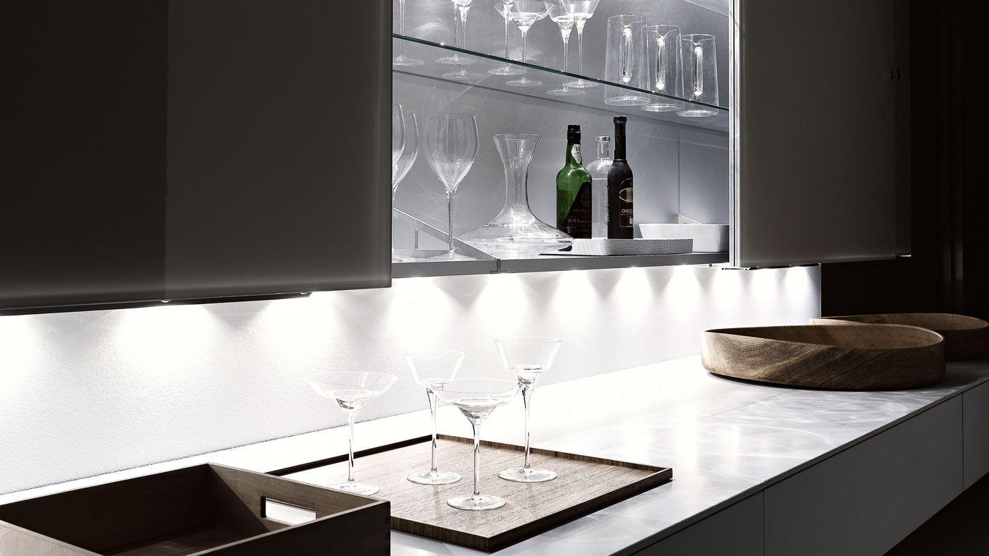 Living Tutum Wall Storage Systems From Valcucine