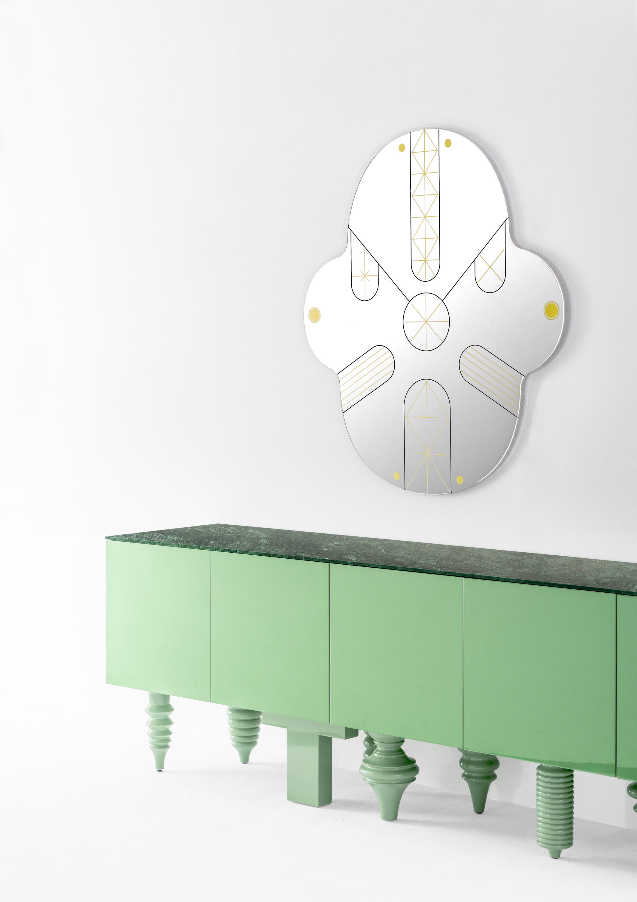 Showtime Multileg Cabinet Sideboards From Bd Barcelona