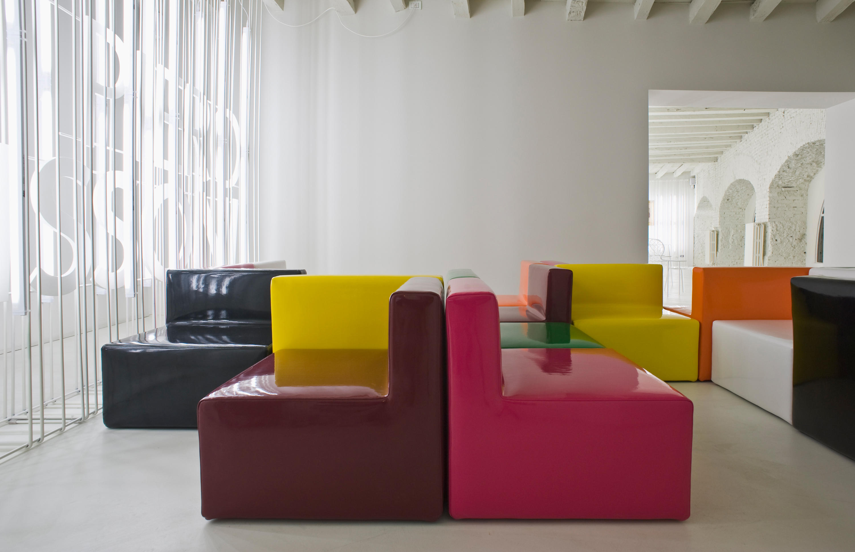 Cabrio Modular Seating Systems From Living Divani Architonic