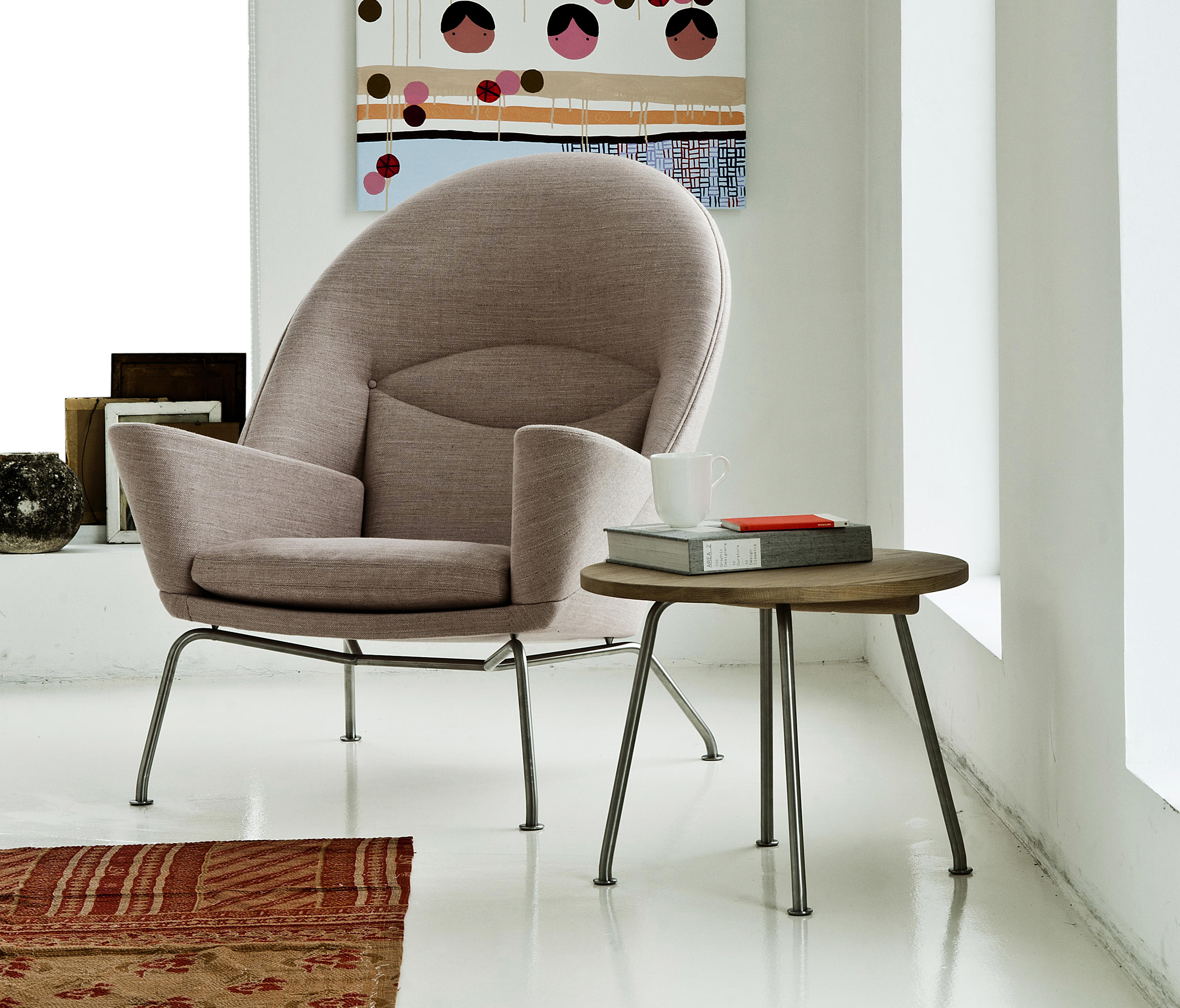 ch468 oculus chair lounge chairs from carl hansen s n architonic. Black Bedroom Furniture Sets. Home Design Ideas