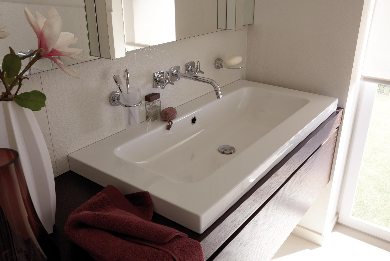 Doppelwaschtisch aufsatzwaschbecken  Waschtischunterschrank Stehend Ohne Waschbecken: Waschbecken rund ...