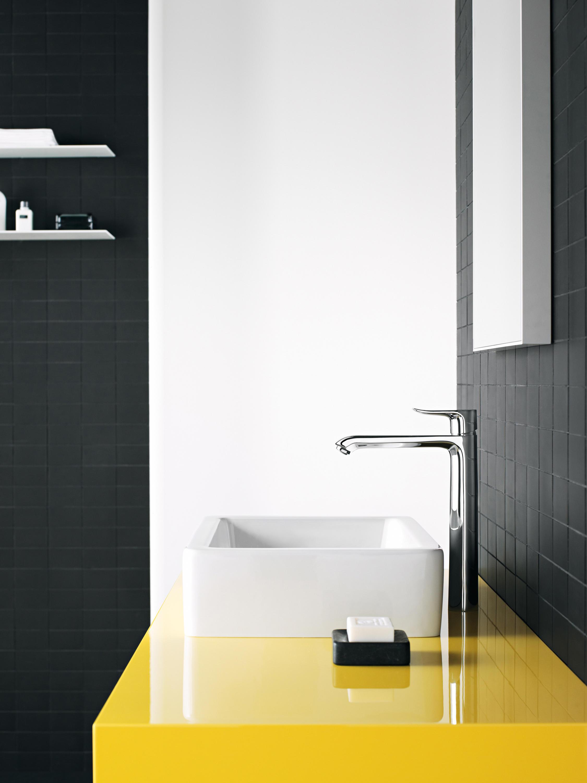Hansgrohe metris set de finition pour mitigeur bain douche encastr robinet - Installation mitigeur douche ...