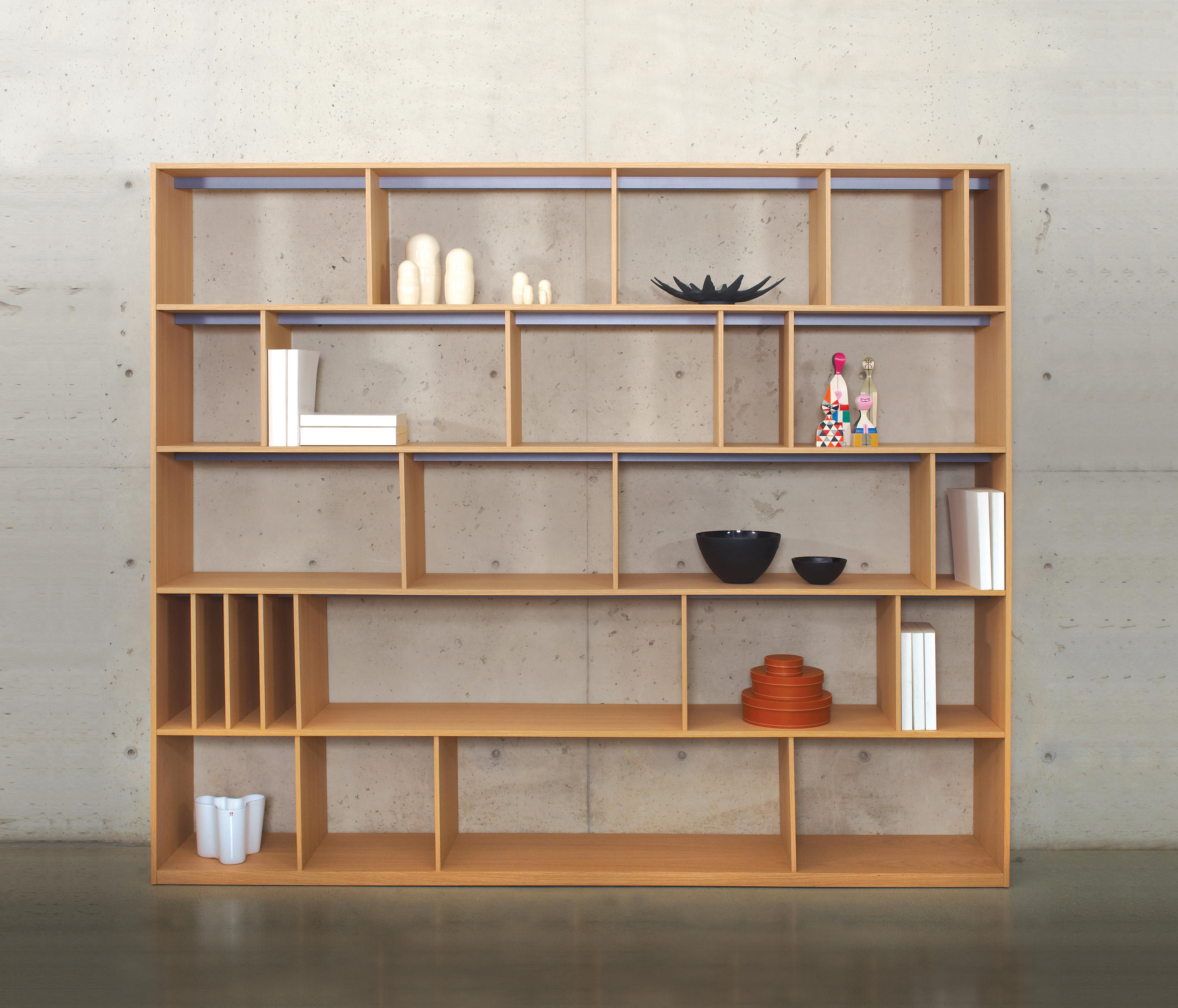 Bookcase room divider by bensen italy - creative furniture d.