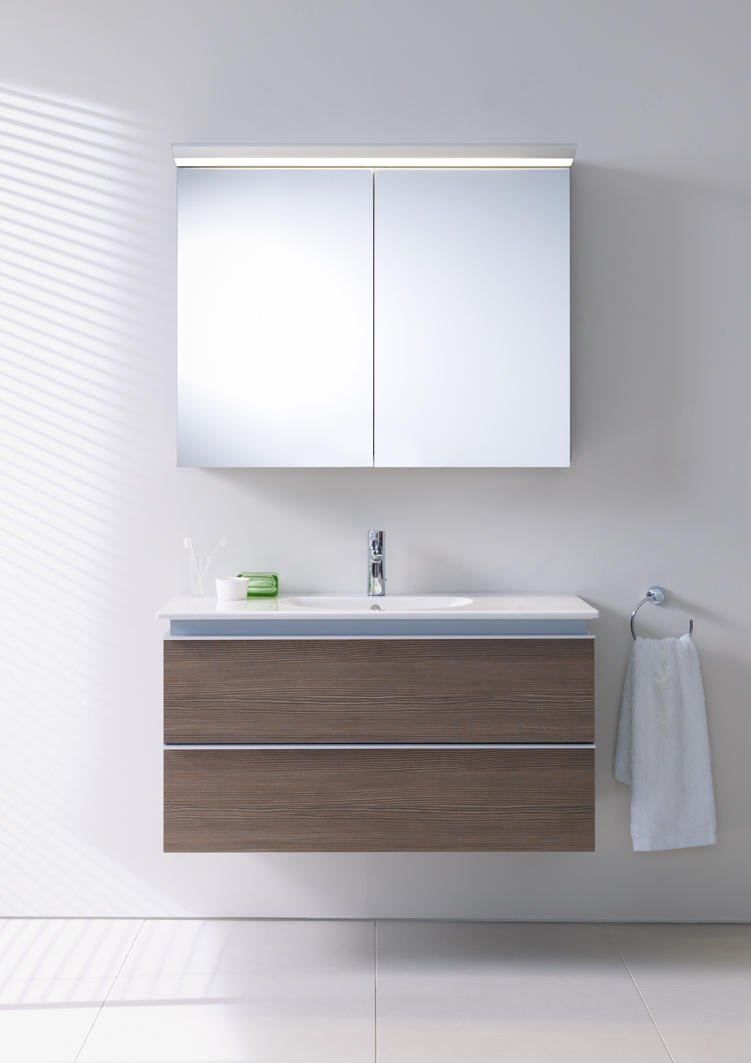 darling new pedestal vanity units from duravit. Black Bedroom Furniture Sets. Home Design Ideas