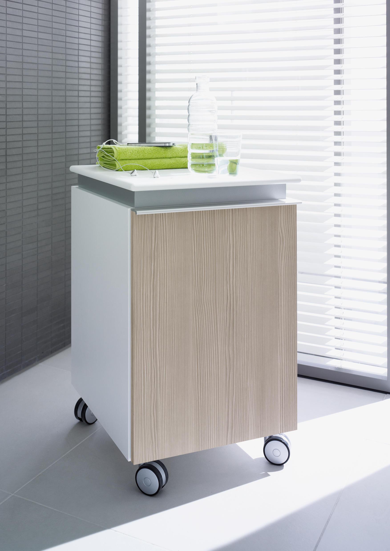 Pedestal Vanity Unit : Darling New - Pedestal - Vanity units by DURAVIT Architonic