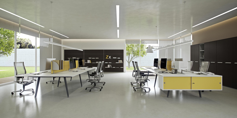 Dv804 e place 01 individual desks from dvo architonic for Piani di lusso open space