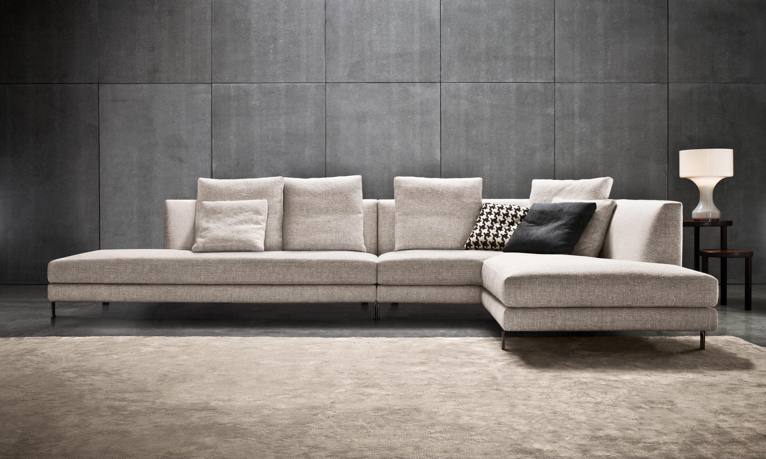 Allen sofas from minotti architonic for Sofa gebraucht