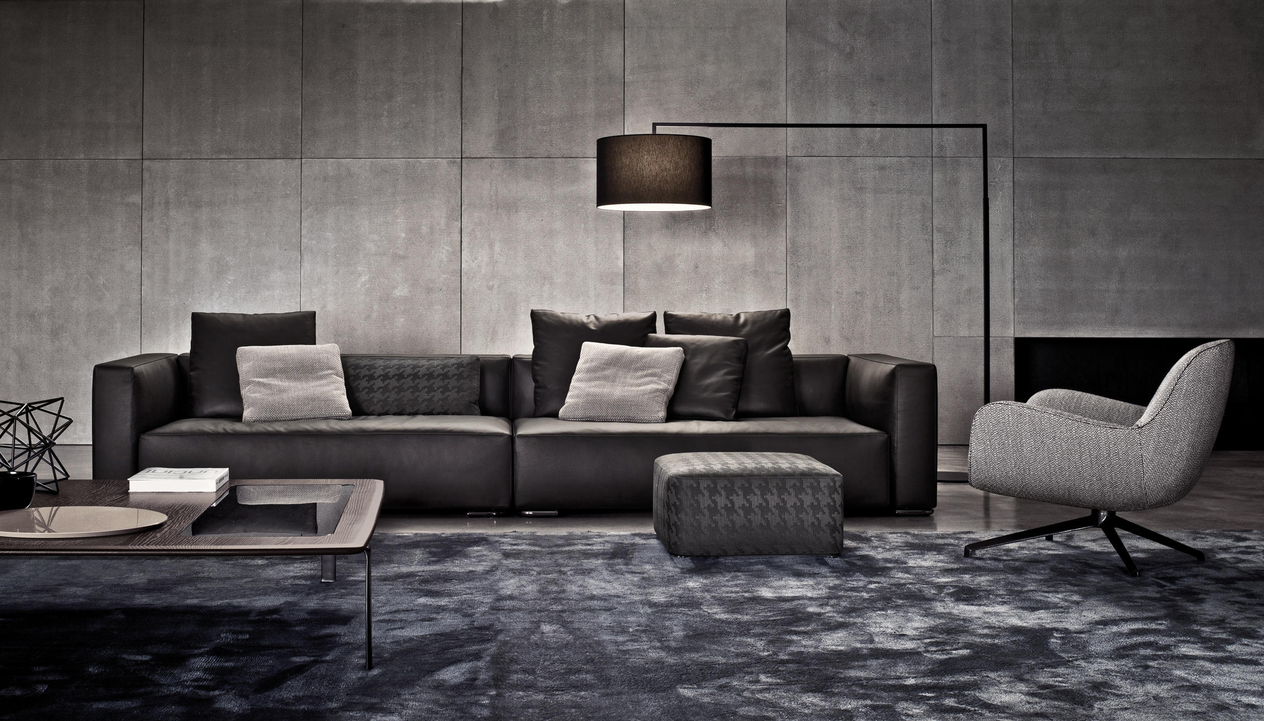 donovan sofas from minotti architonic. Black Bedroom Furniture Sets. Home Design Ideas