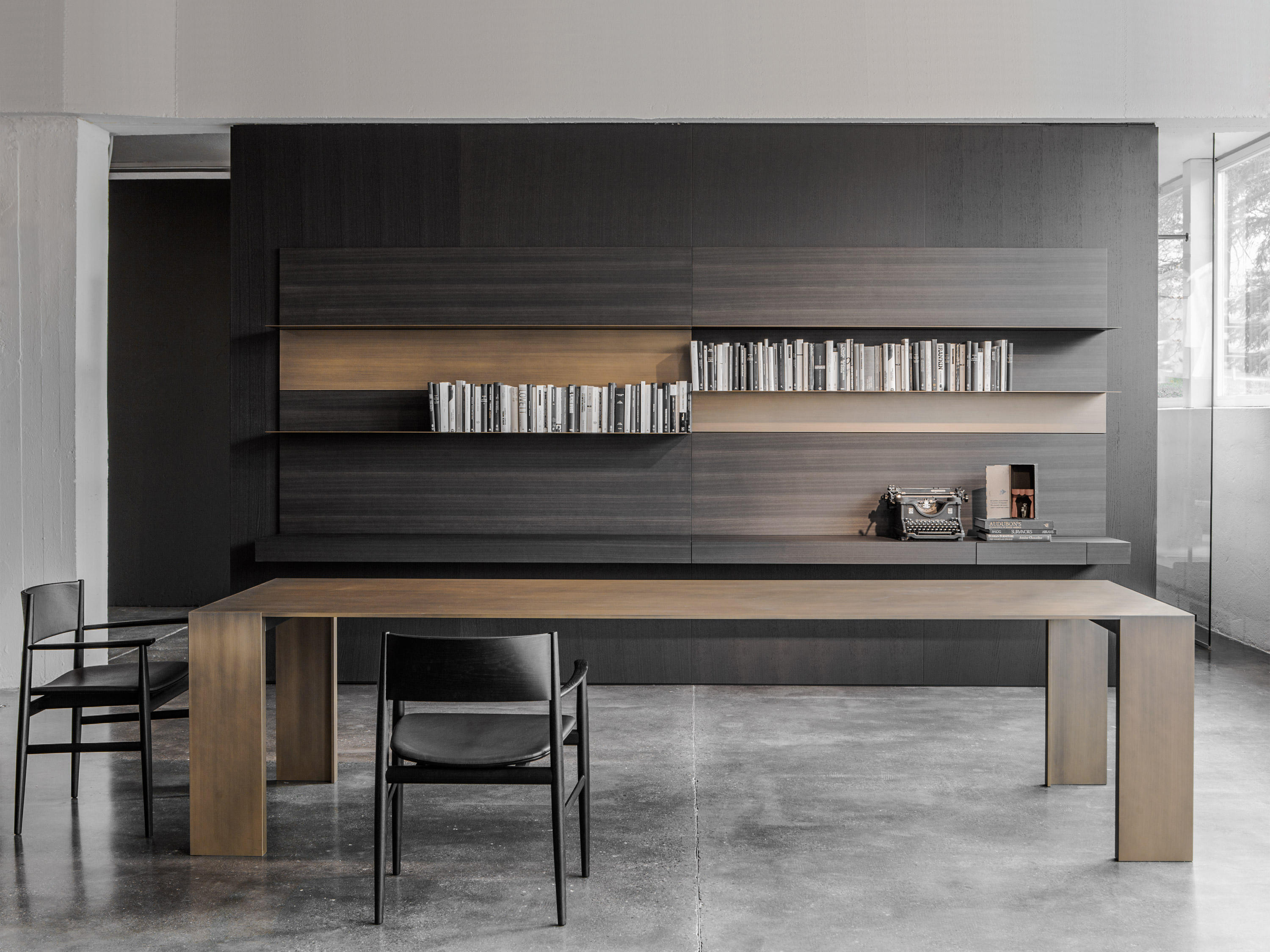 Metallico Black Table Dining Tables From Porro Architonic