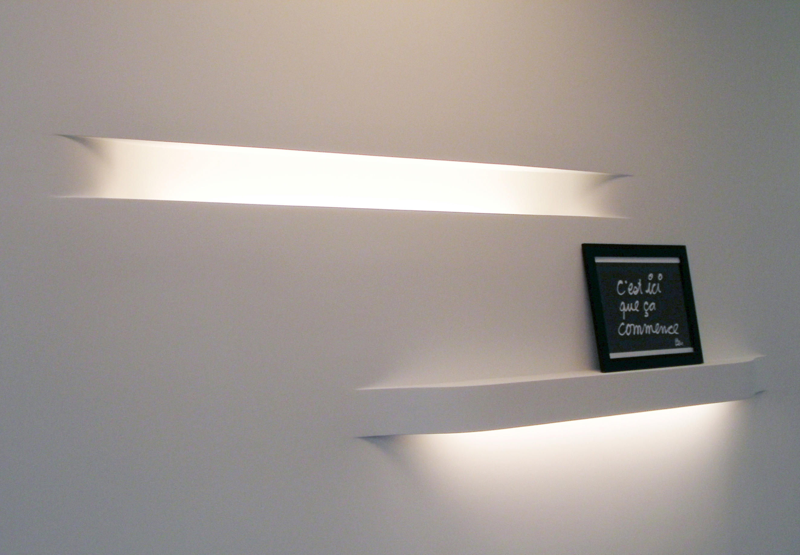 Impression 21 39 Recessed Wall Lights From Brick In The